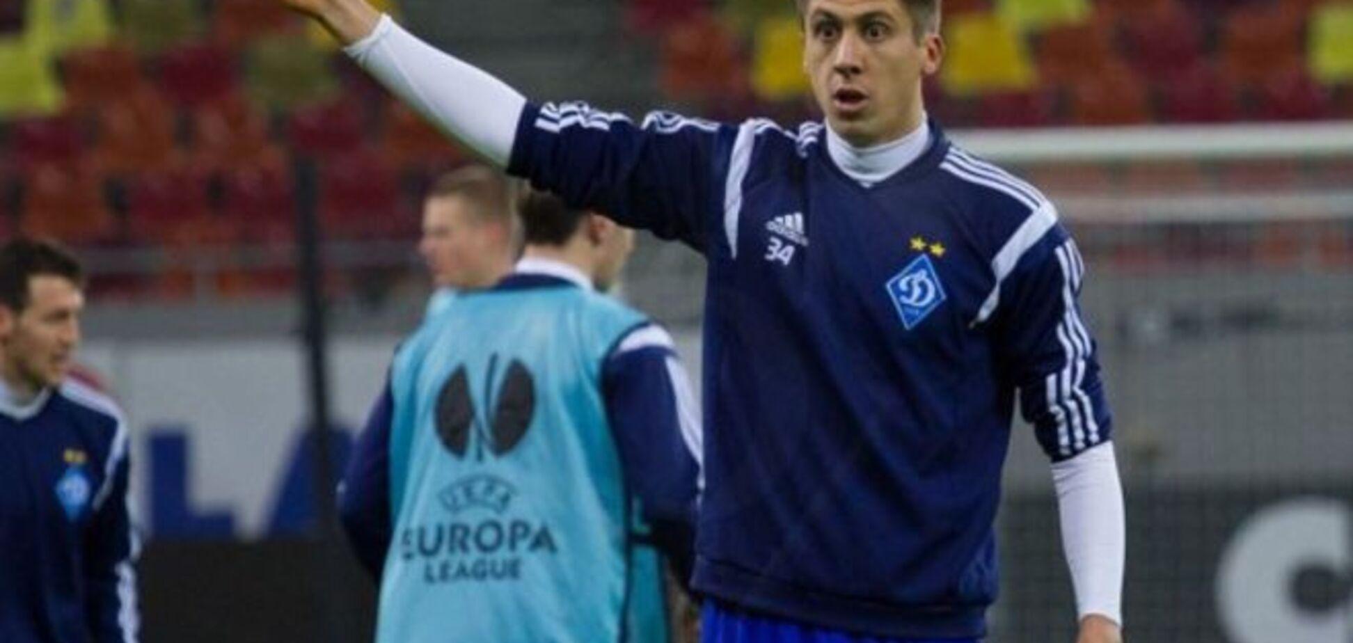 Хачериди оценил шансы 'Динамо' в матче с 'Эвертоном' в Лиге Европы