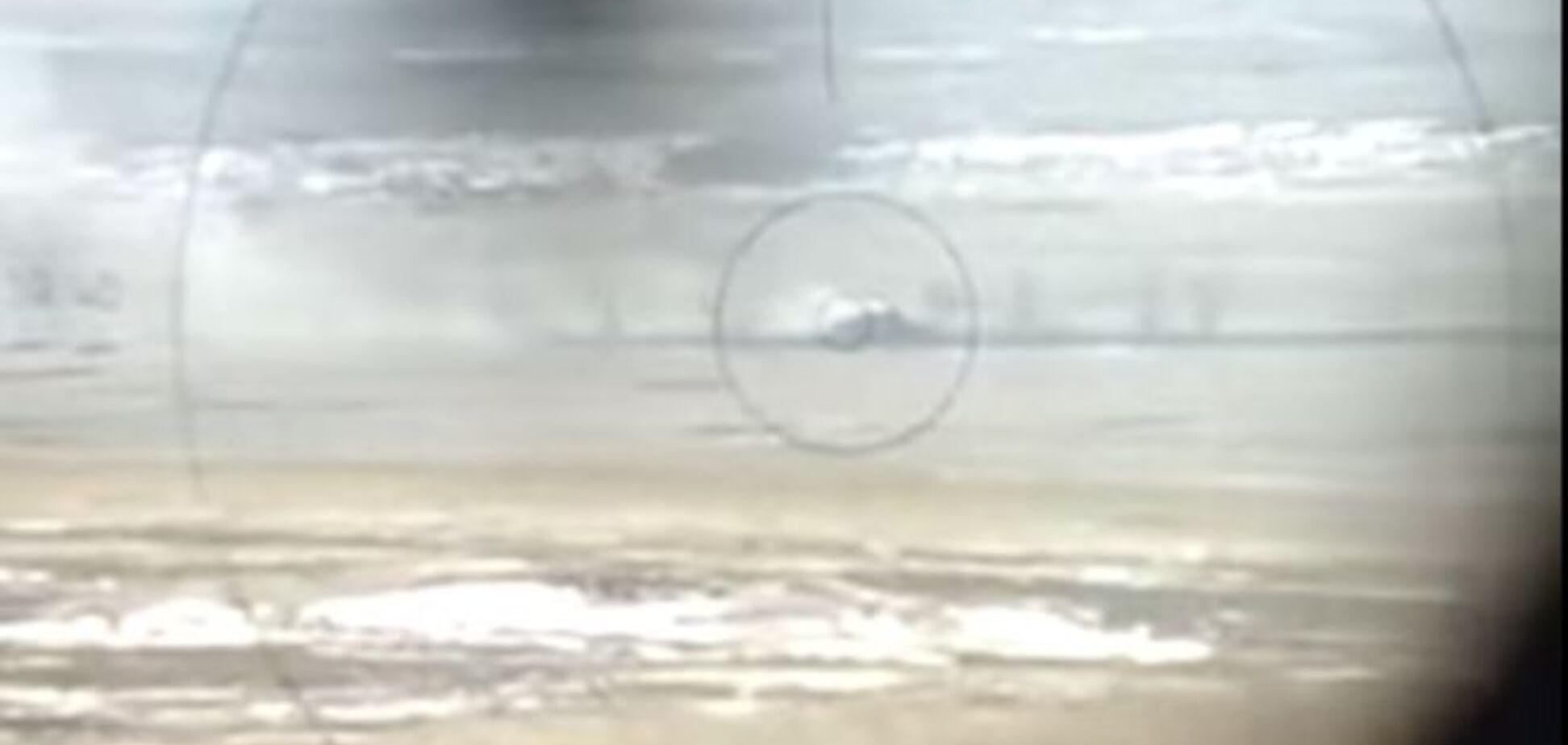 'Есть контакт!': бойцы 95-й бригады подбили танк террористов. Видеофакт