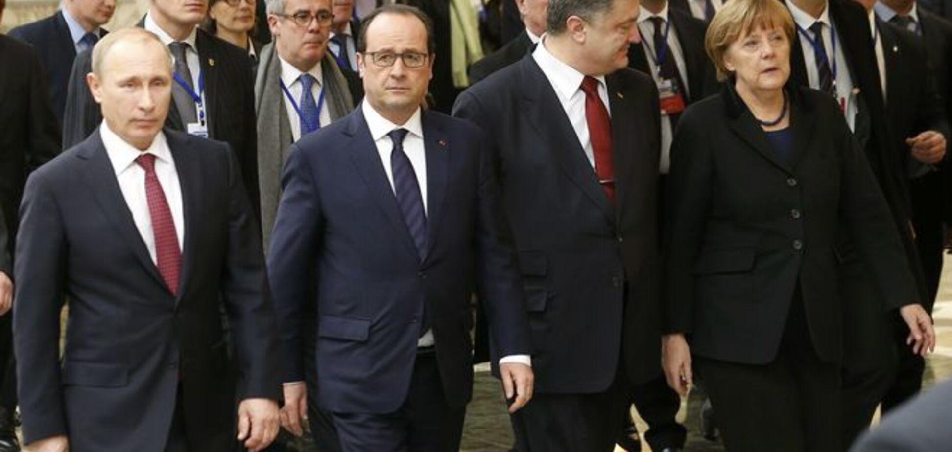 'Нормандская четверка' назвала места дислокации наблюдателей ОБСЕ