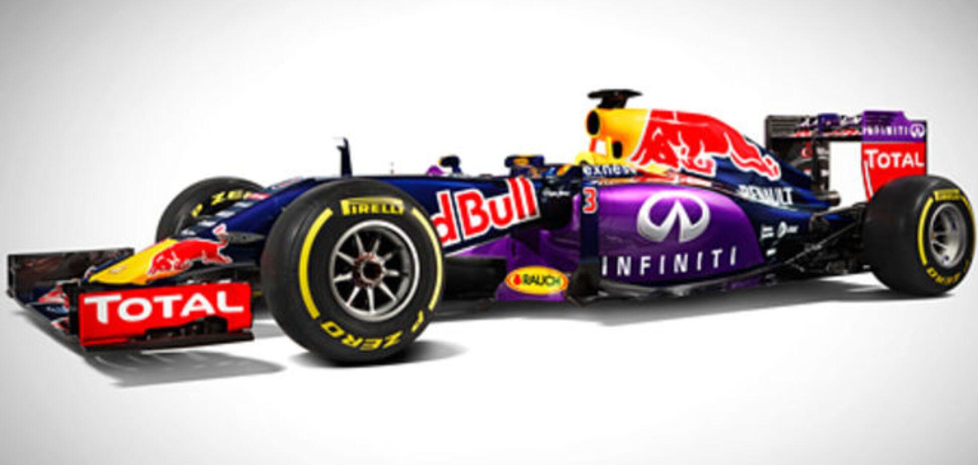 Red Bull представил долгожданный болид 2015 года: фото новинки