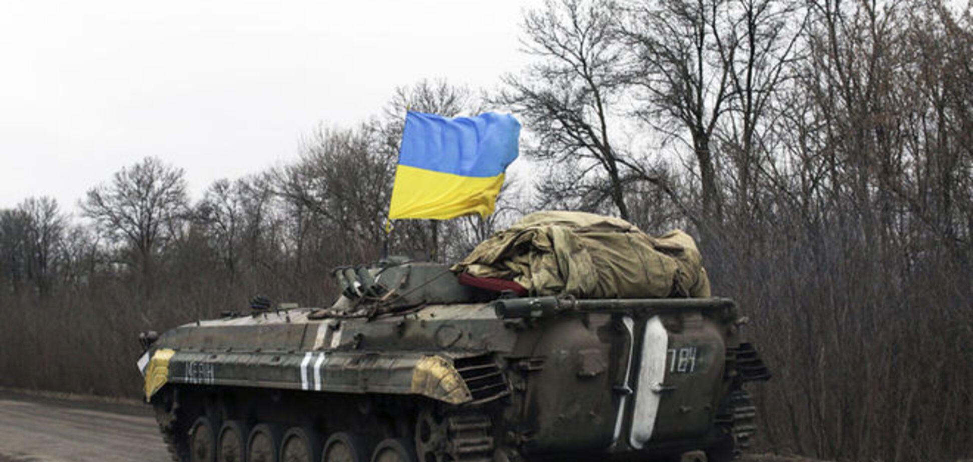 Боевики обстреляли позиции сил АТО в районе Авдеевки из тяжелого вооружения