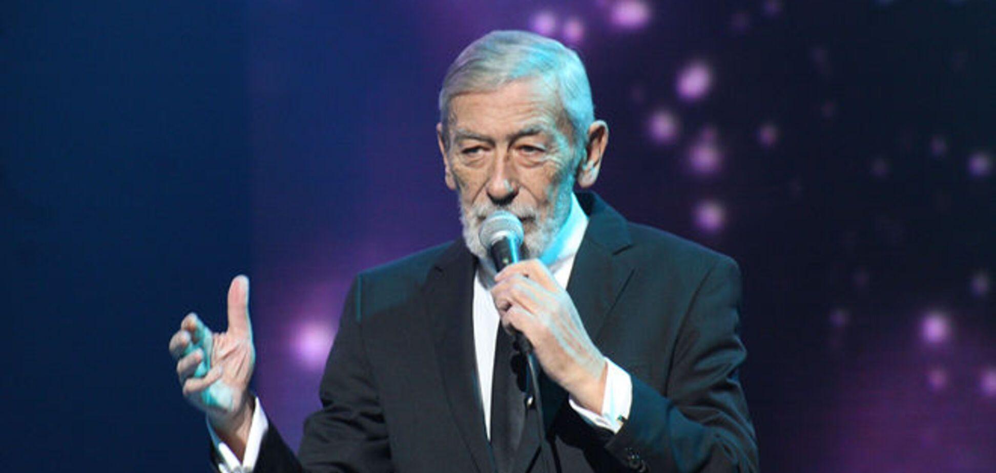 В Киеве Вахтанг Кикабидзе посвятил концерт 'Небесной сотне'