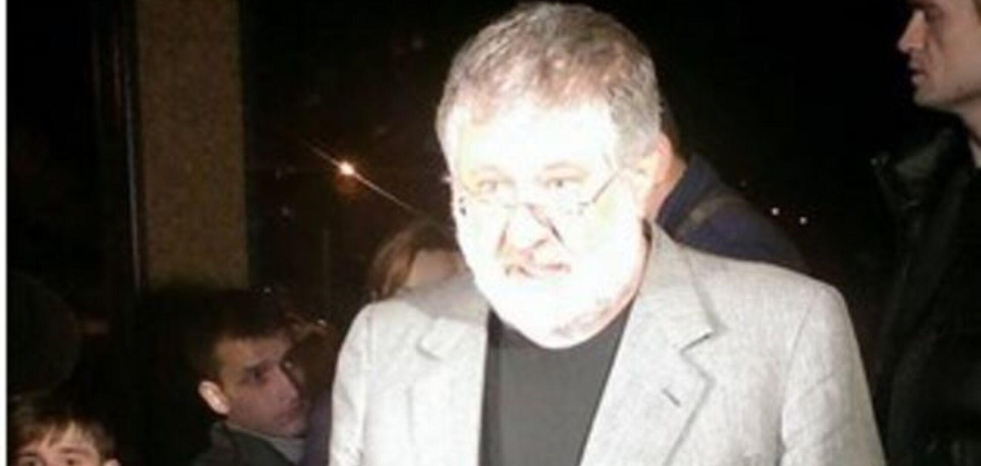 Коломойский обвинил в рейдерском захвате 'Укртранснафти' друга Порошенко