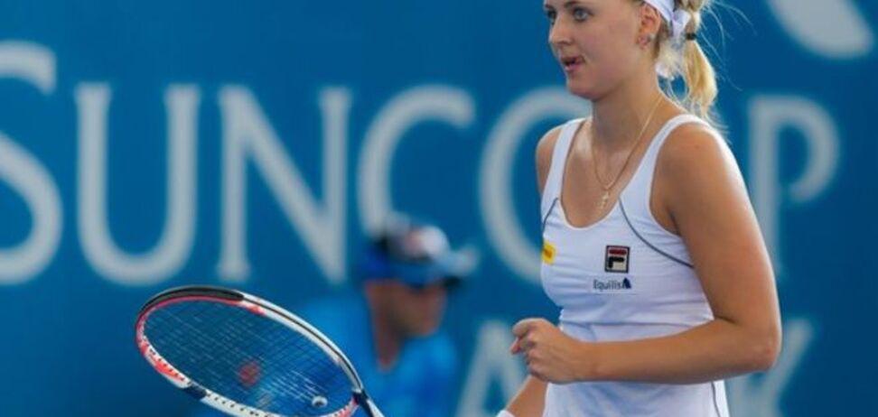 Украинская теннисистка вышла в финал турнира в Испании