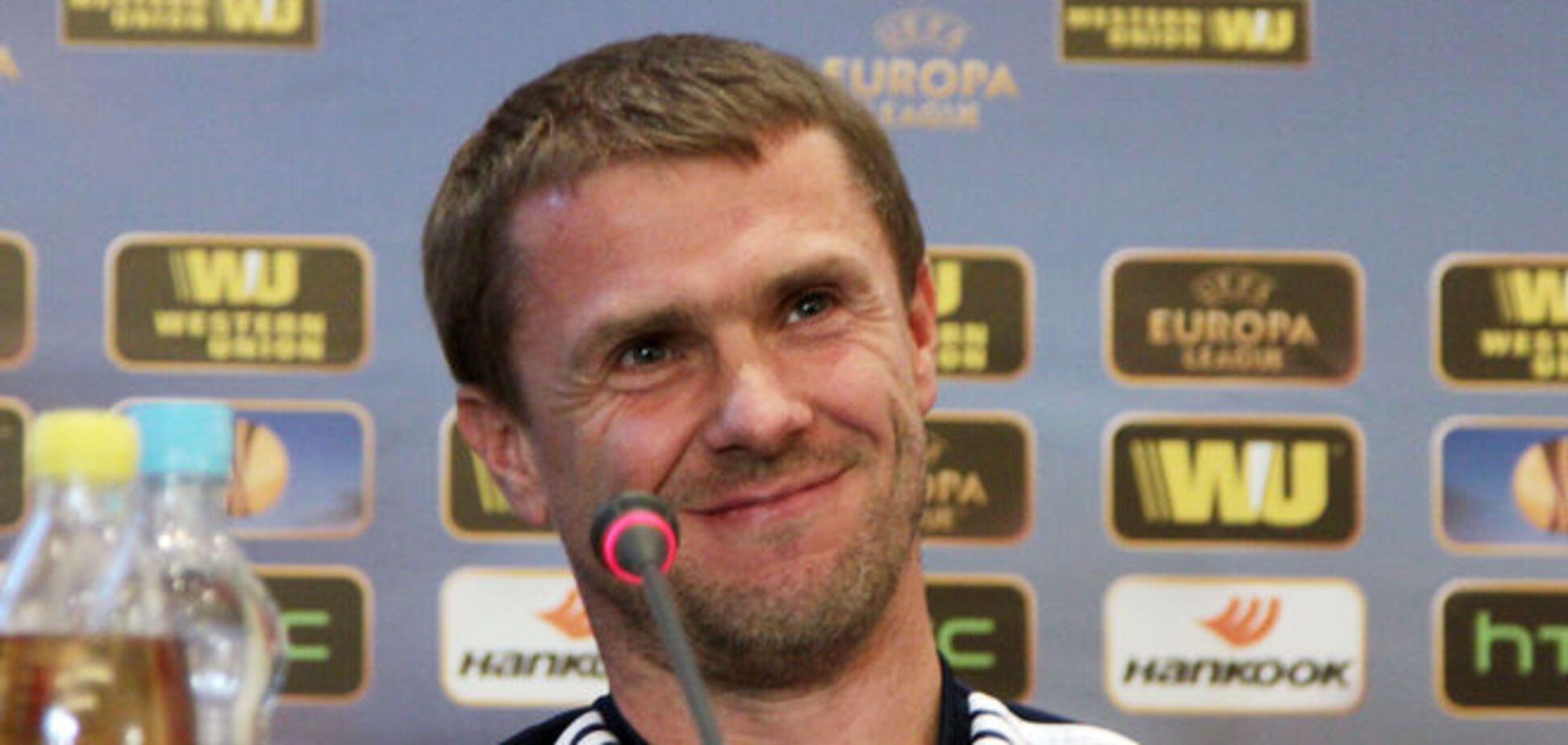 Ребров раскрыл хитрости феерической победы в Лиге Европы