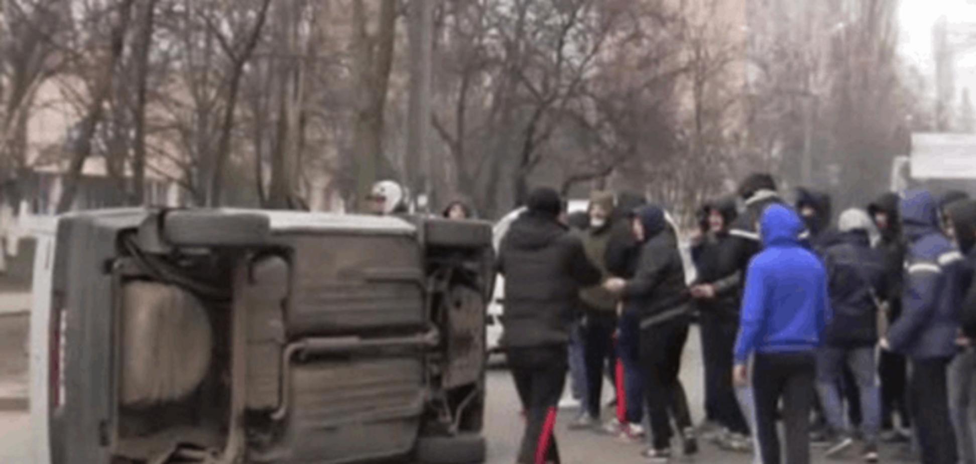 Скоро на всех экранах росСМИ: в Одессе сняли фейковое 'кино' о массовых беспорядках