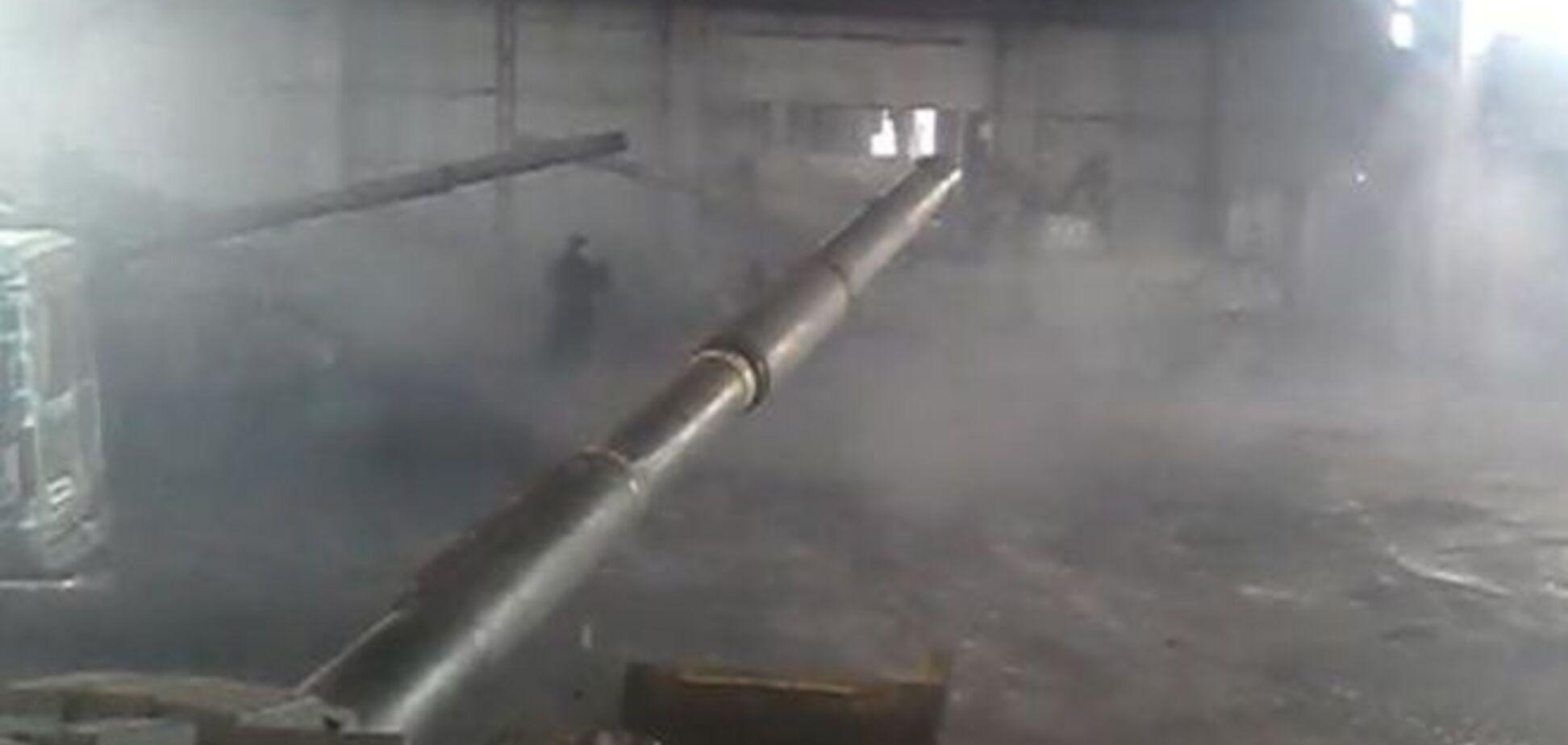 'Відведені' танки бойовиків знайшлися в Макіївці: Відеофакт