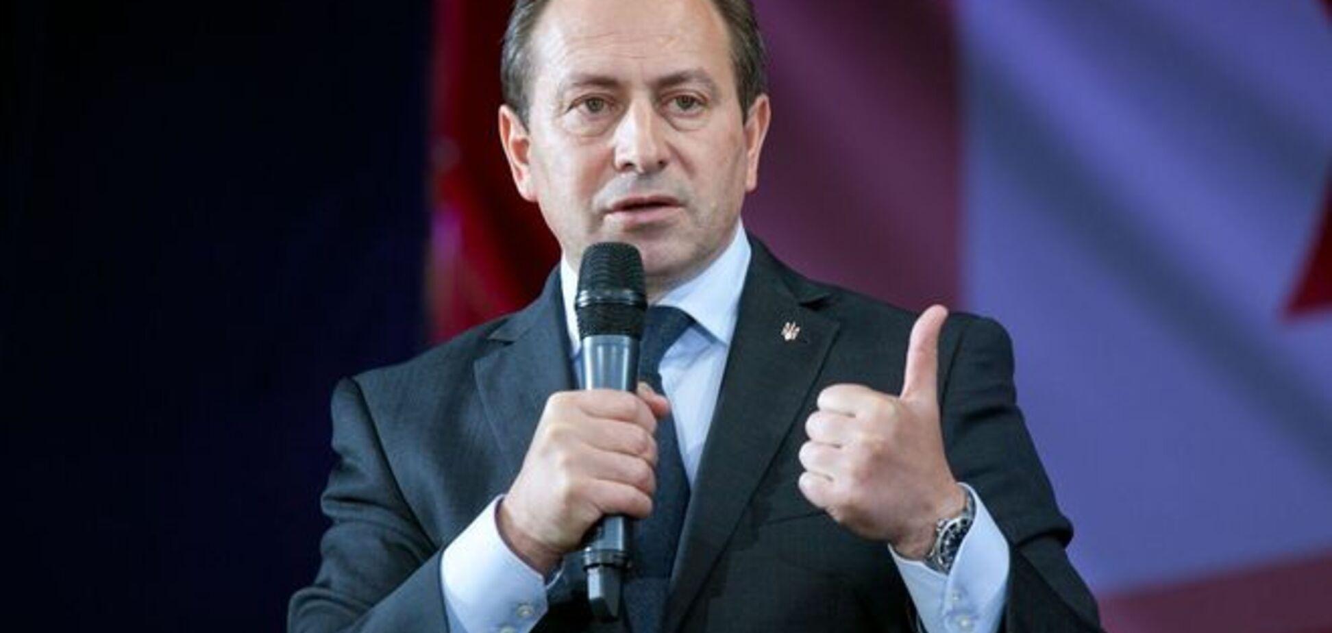 В июне треть украинцев может остаться без телевидения - Томенко
