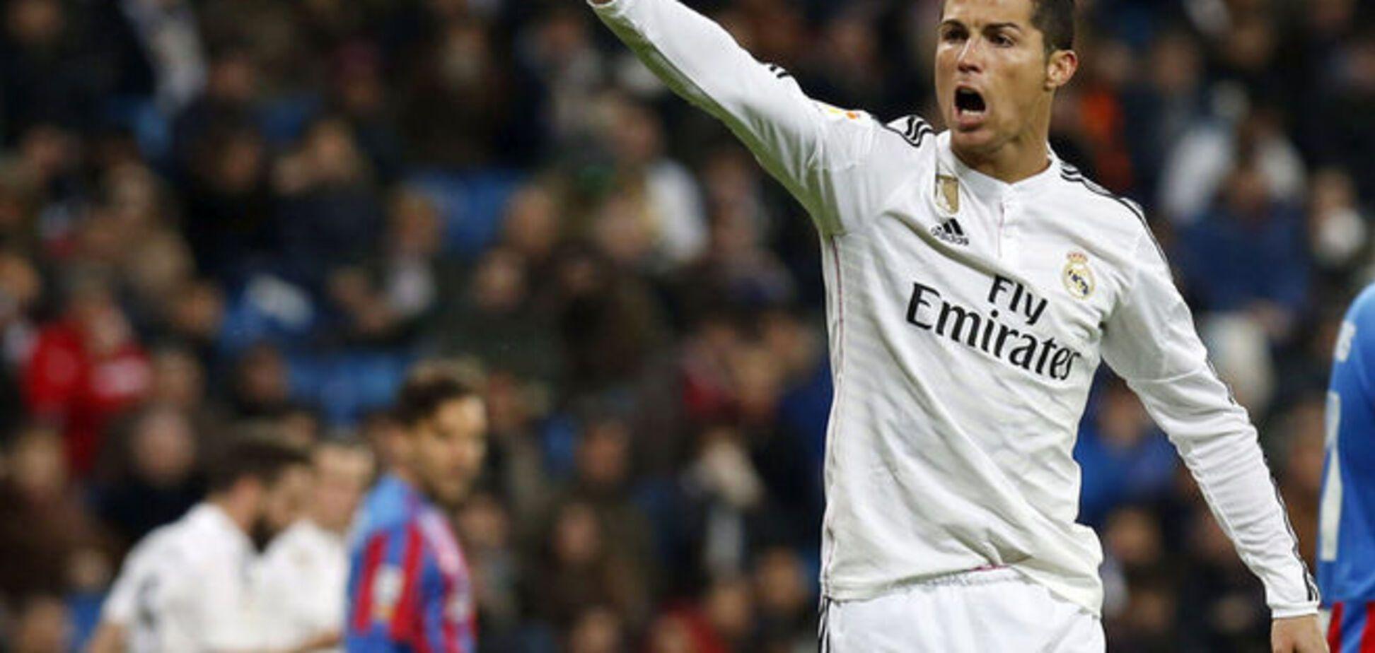 Роналду считает, что в 'Реале' все 'наложили в штаны' в битве с 'Барселоной'