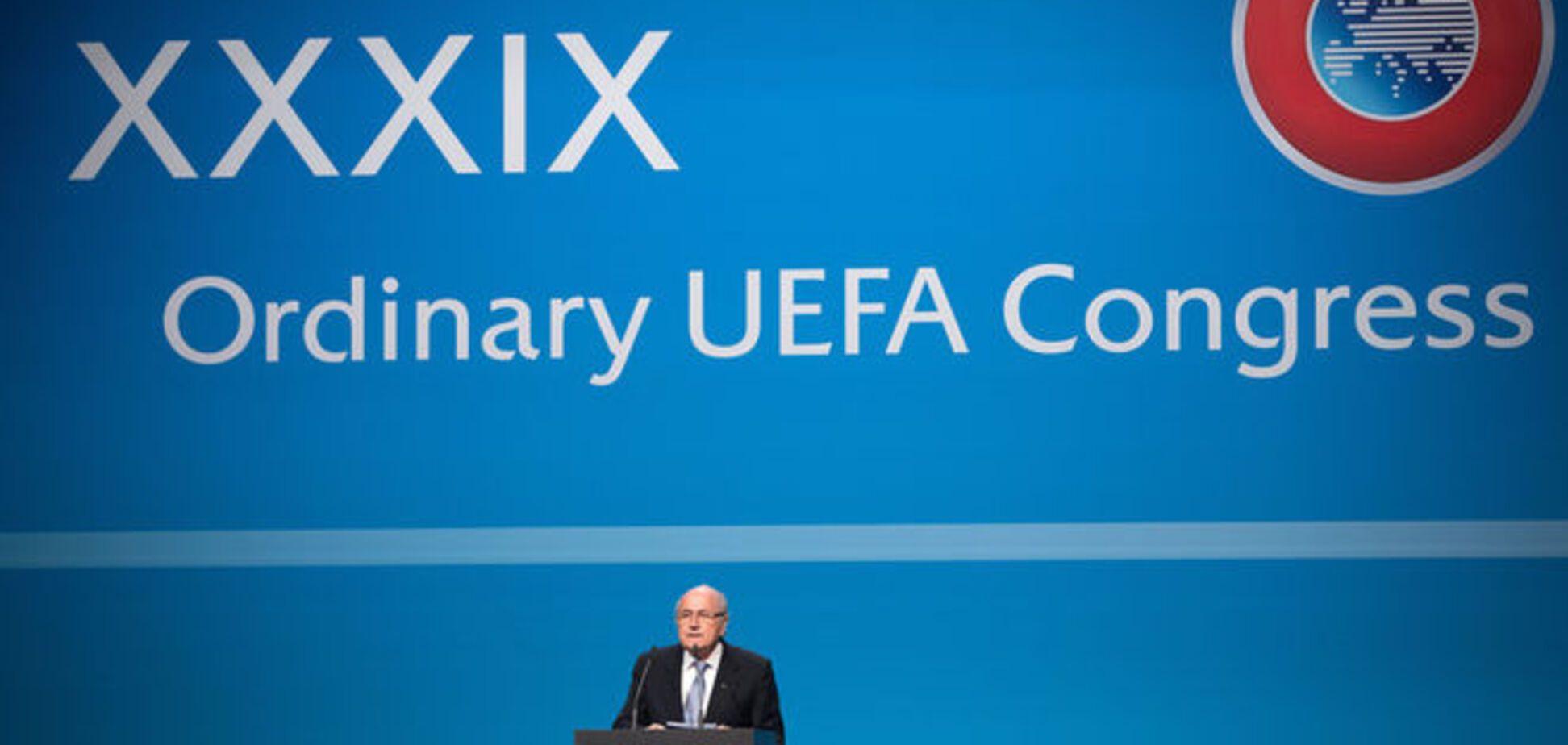 Англия объявила бойкот президенту ФИФА