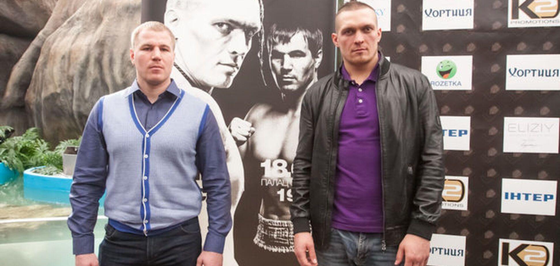 Боксер Усик не має наміру робити з бою з росіянином політичного шоу
