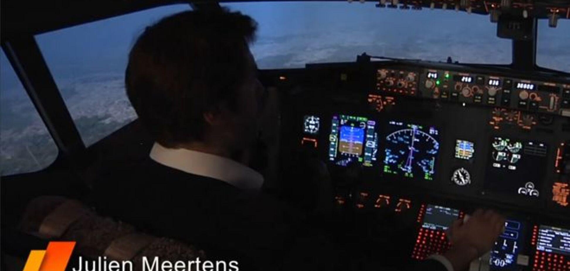 Крах Airbus А320: катастрофу показали на авіасимуляторі. Відеофакт