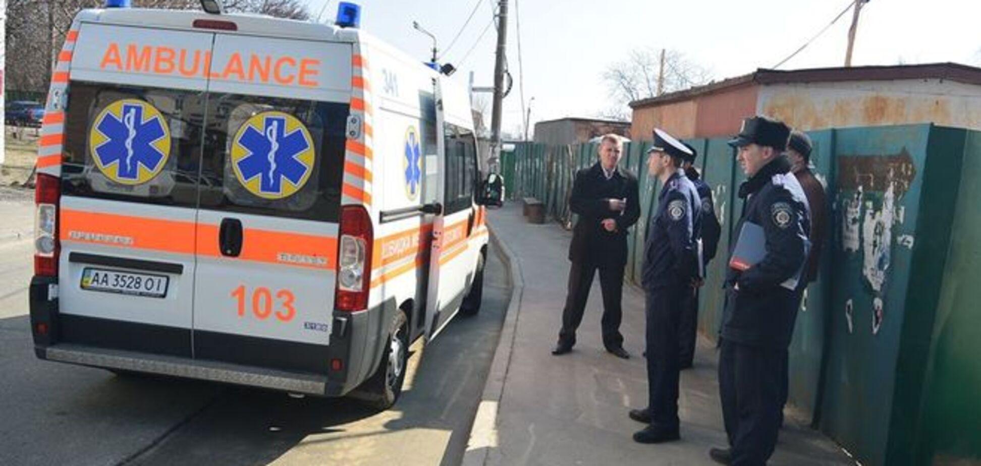 В Киеве избили трех женщин, в том числе депутата: фотофакт