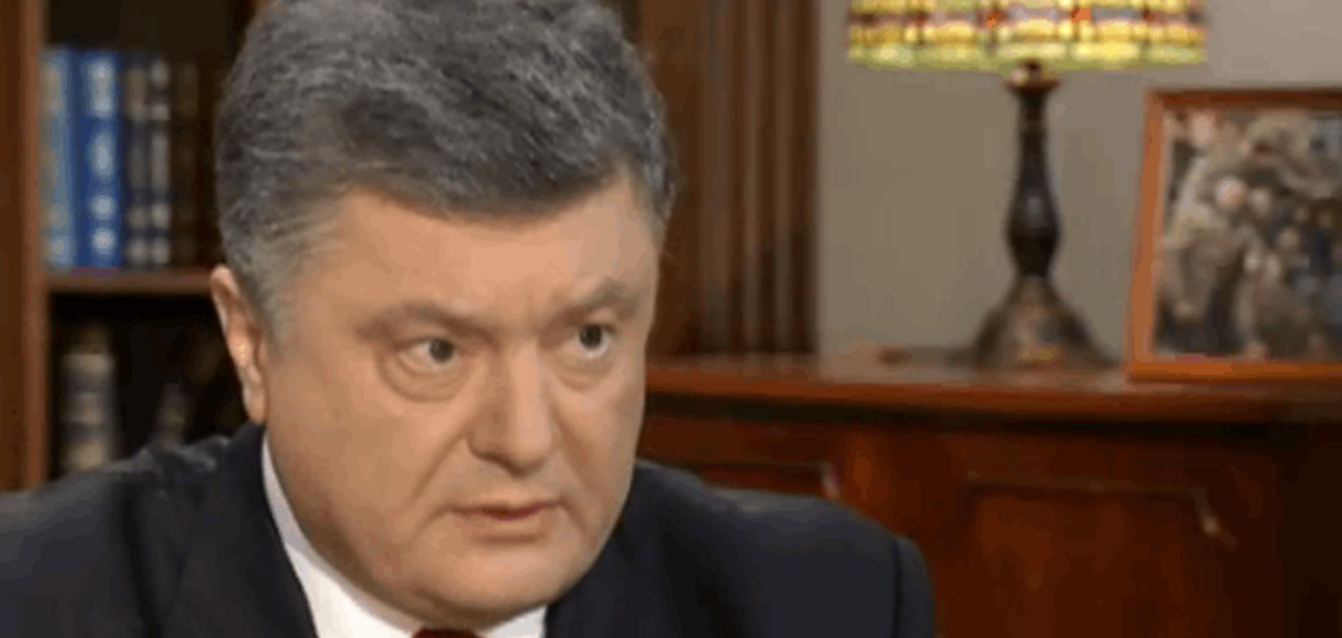 Порошенко рассказал о конфликте с Коломойским