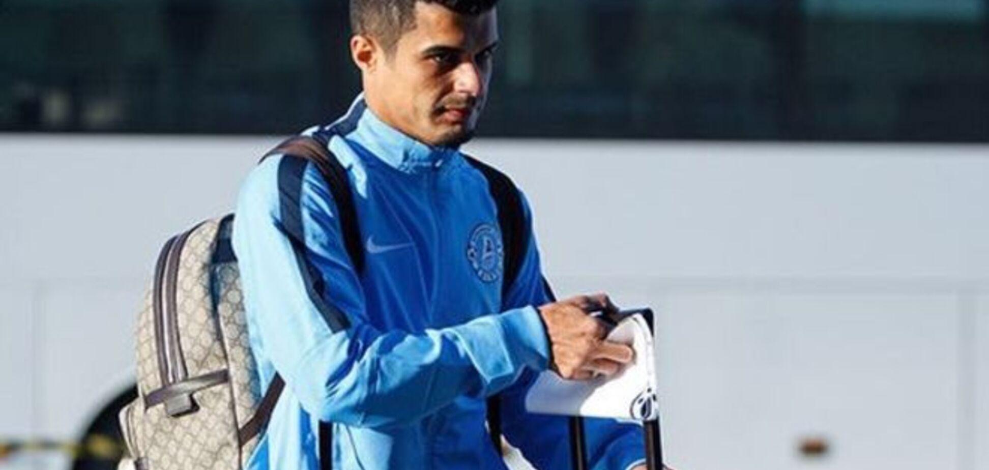 Бразилец 'Днепра' сенсационно расторг контракт с клубом