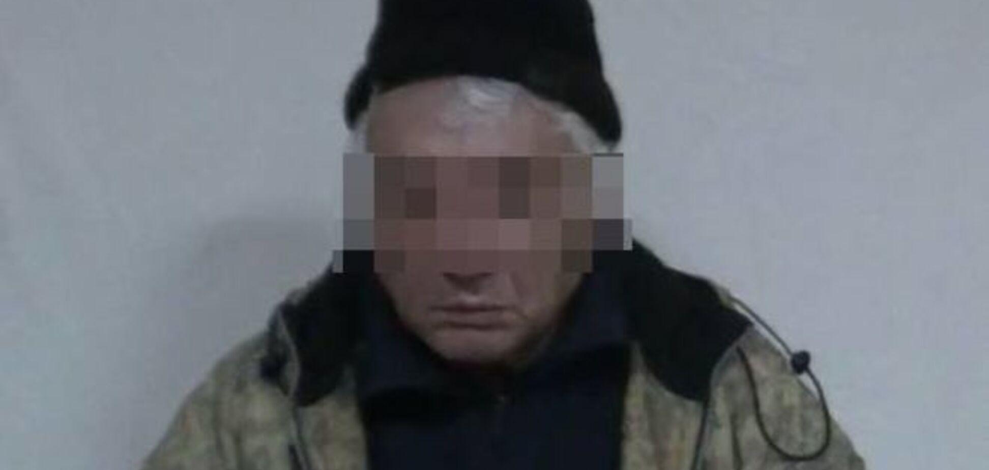 СБУ задержала очередного российского диверсанта в Донецкой области с арсеналом оборудования для шпионажа
