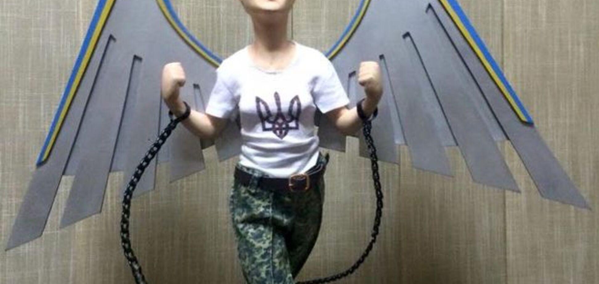 Унікальна фігурка закутої, але окриленої Савченко відправиться в Європу - нардеп
