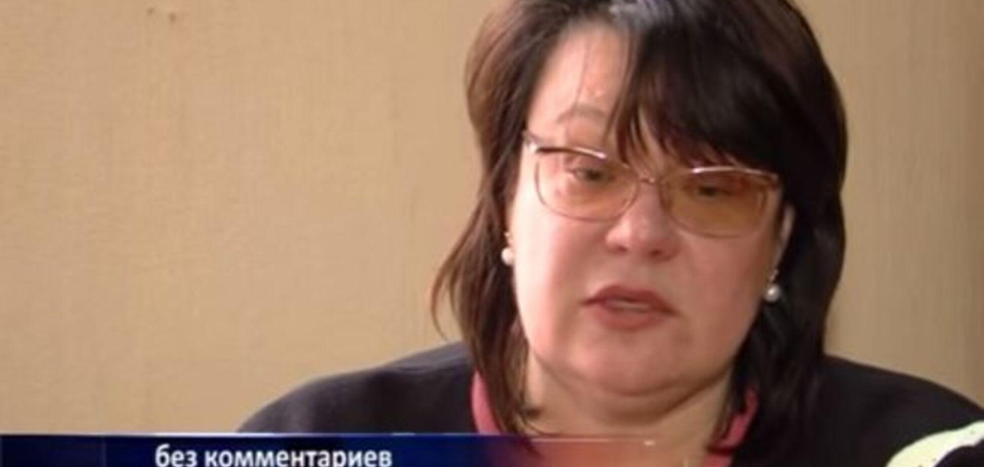 Мэр-сепаратистка Красного Луча рассказала о четырехмесячном плене в подвалах Козицына