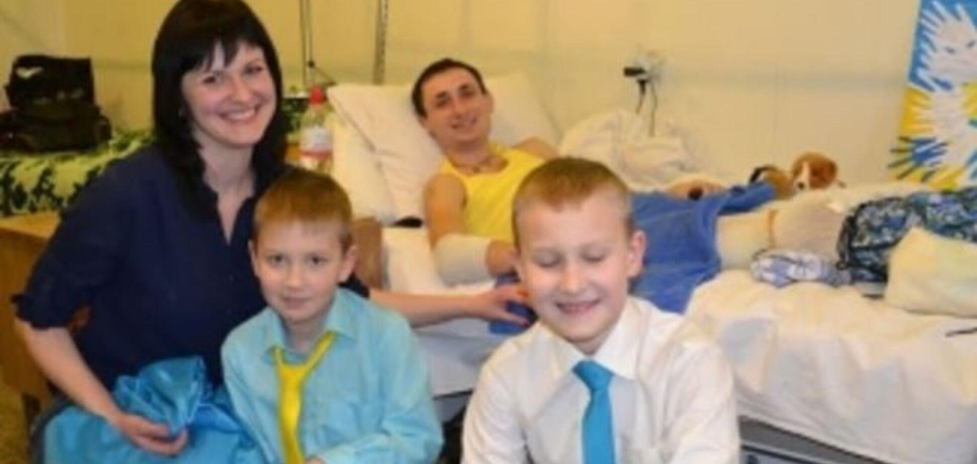 8-летний харьковчанин отказался от дня рождения, чтобы помочь раненым бойцам АТО: видео с маленьким патриотом