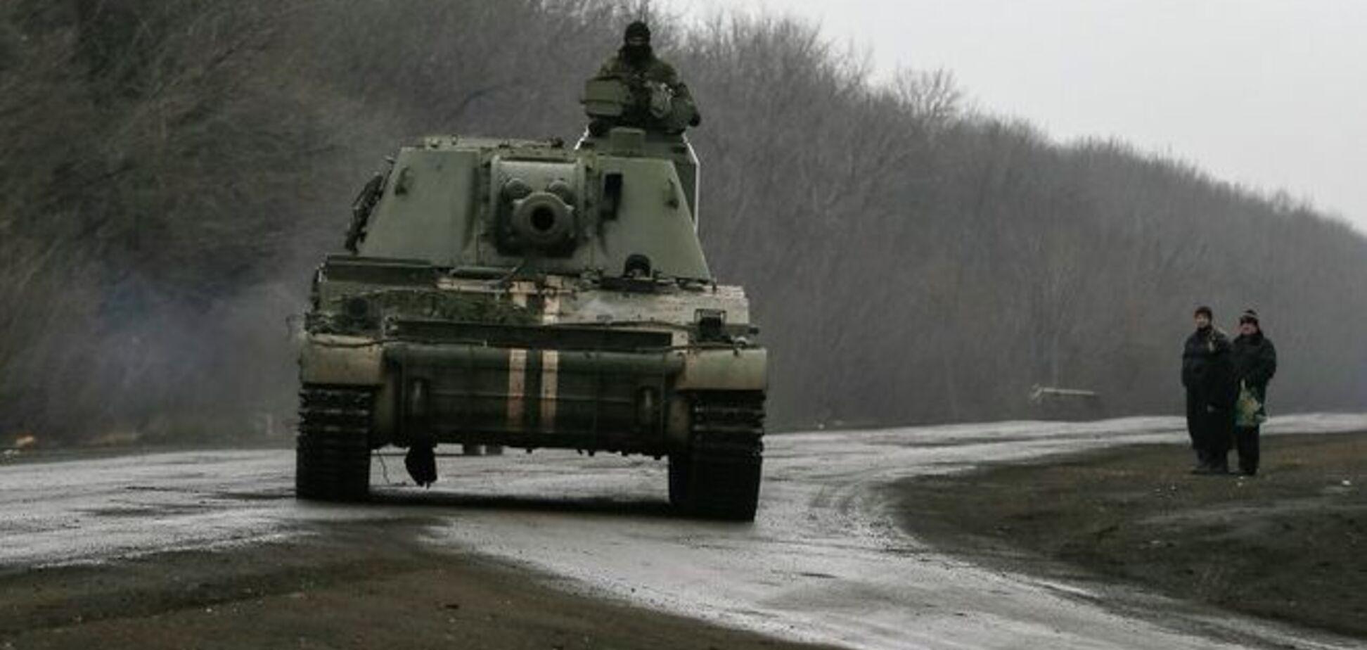 Украина готовится к отводу 152-мм гаубиц 'Акация' от линии разграничения