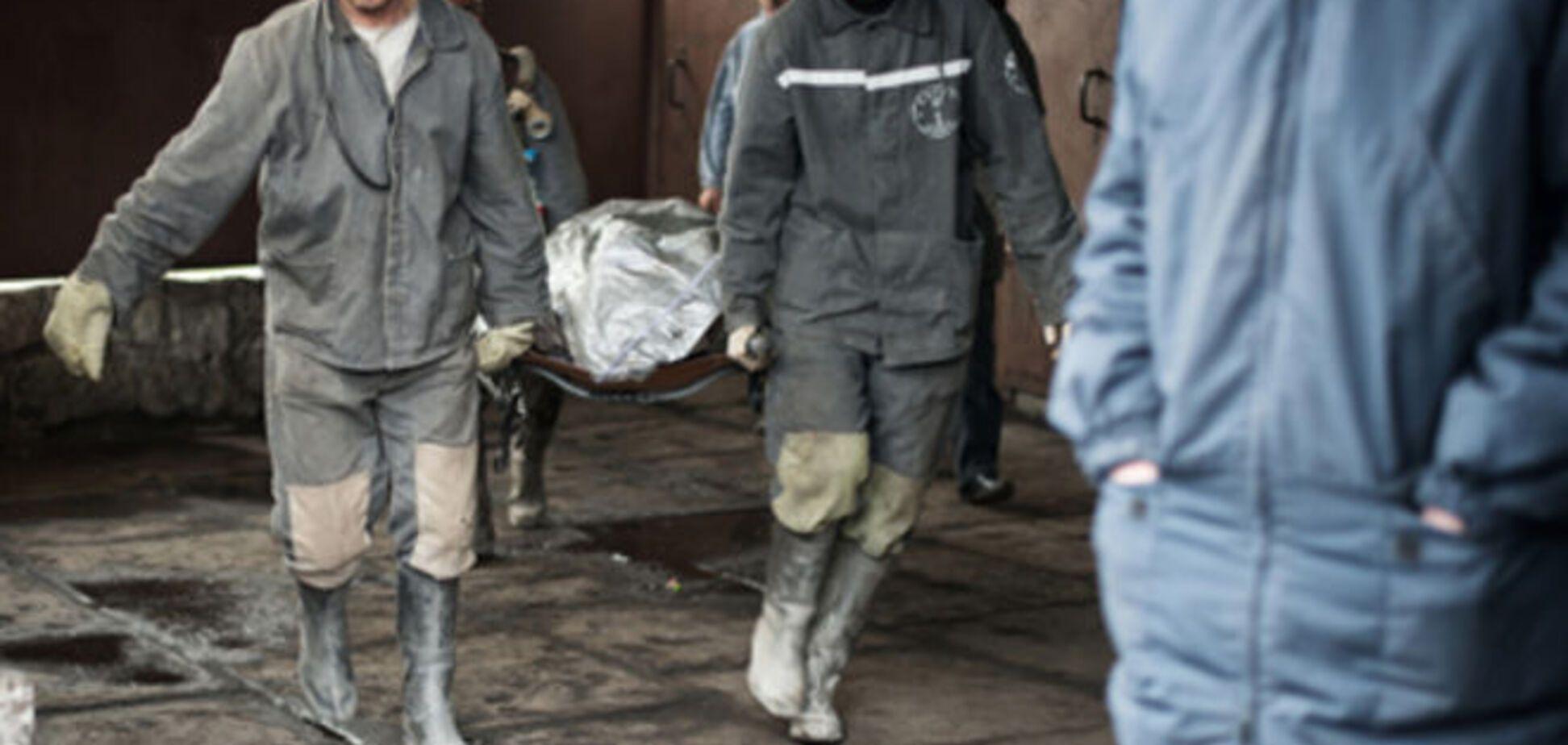 Возросло число жертв аварии на шахте Засядько