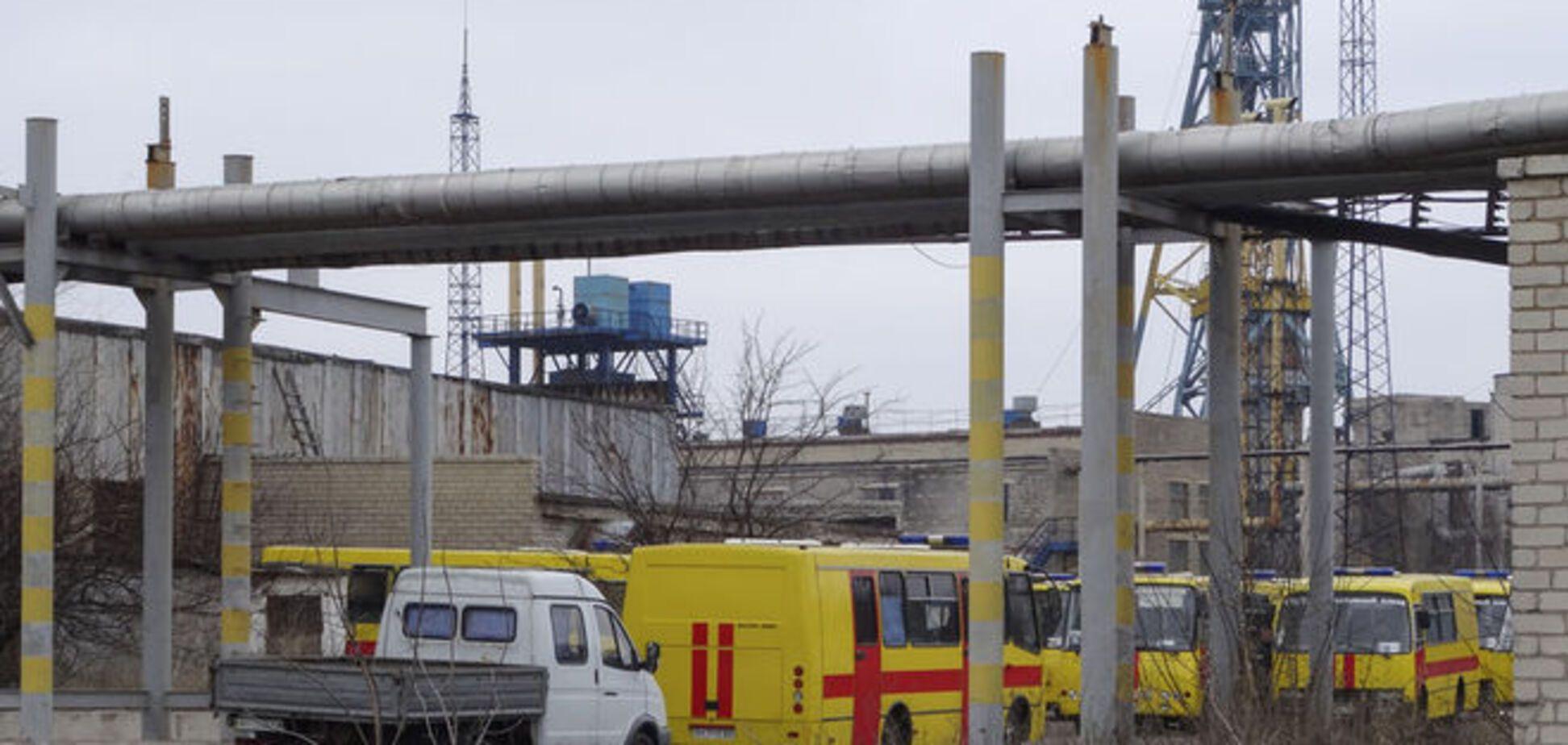 МЧС России предложило помощь в поиске горняков на шахте Засядько