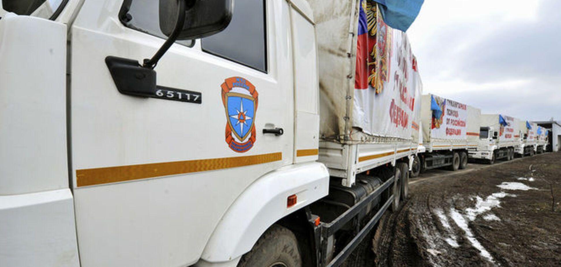 Сотни грузовиков путинского гумконвоя уже на пути в Донецк и Луганск