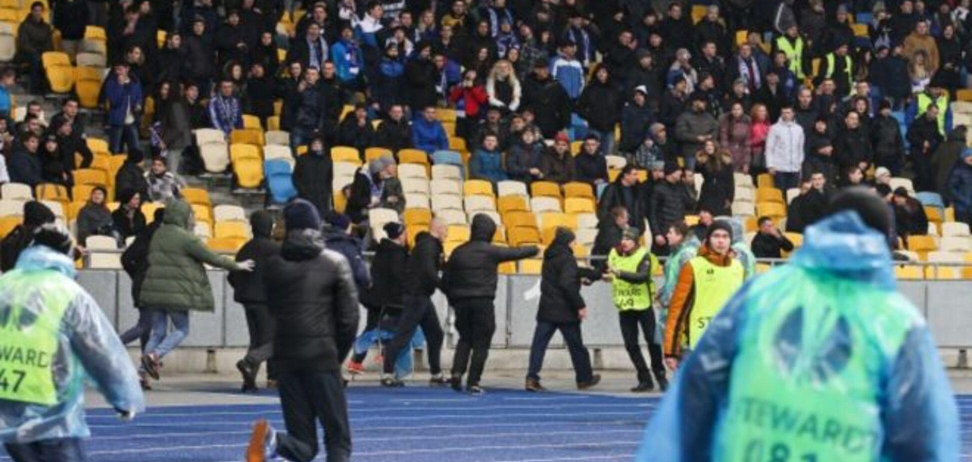 УЕФА наказал 'Динамо' за беспорядки на матче Лиги Европы