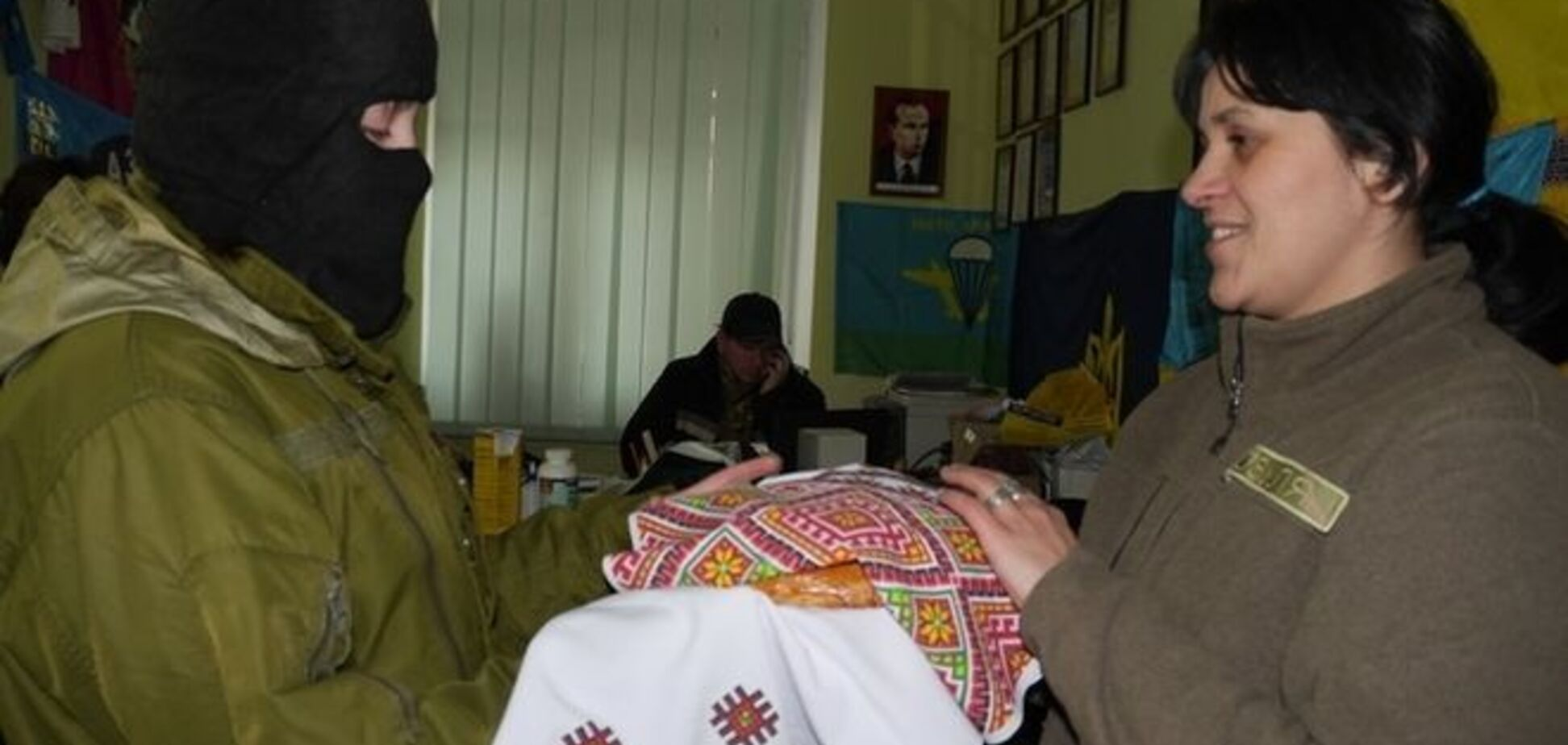 'Синичка' едет в Пески: 23-летняя девушка из Тернополя пошла добровольцем в зону АТО