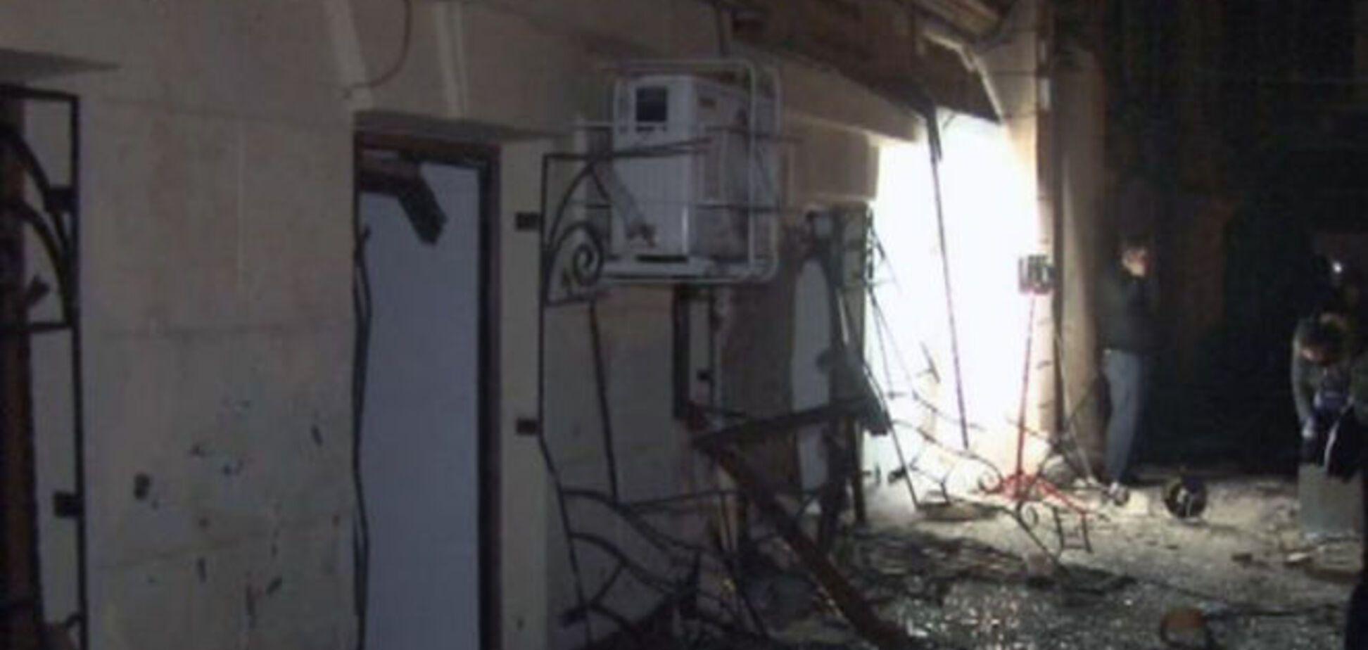 Милиция расследует ночной взрыв в Одессе как теракт