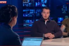 Російські фашисти піаряться на каналі Путіна і звинувачують українку Дурицьку у вбивстві Нємцова