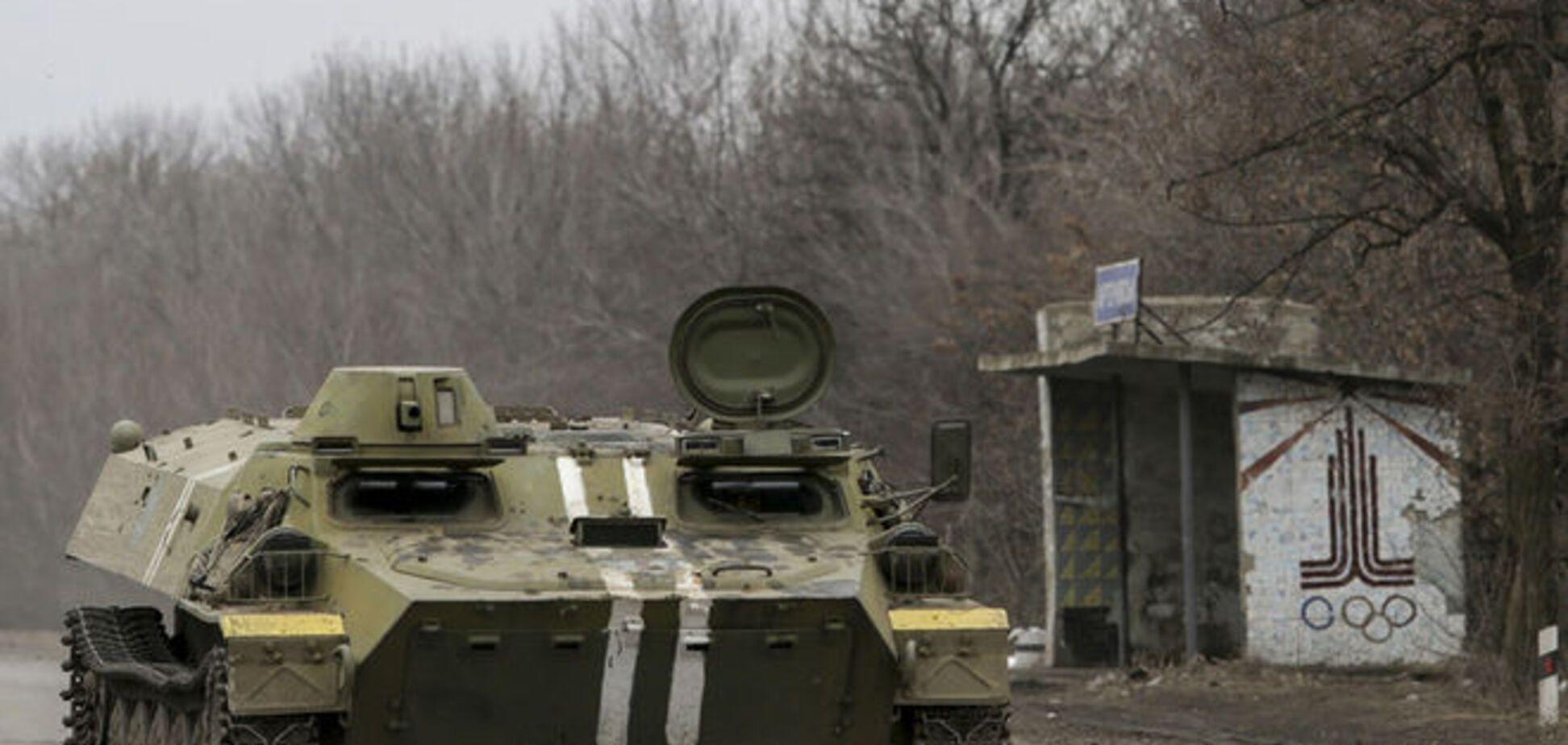 Бойцы АТО отбили ночью штурм террористами Широкино