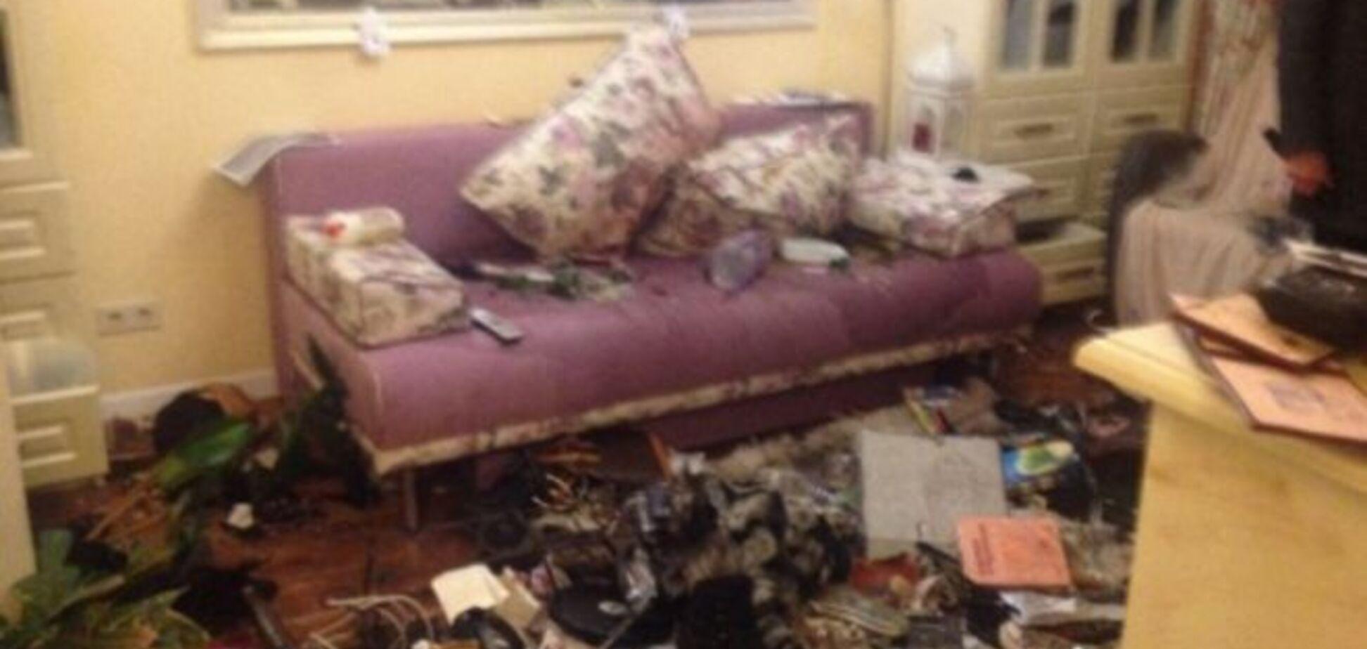 'Вам смерть! Россия-матушка': в квартире нардепа Сюмар устроили чудовищный погром
