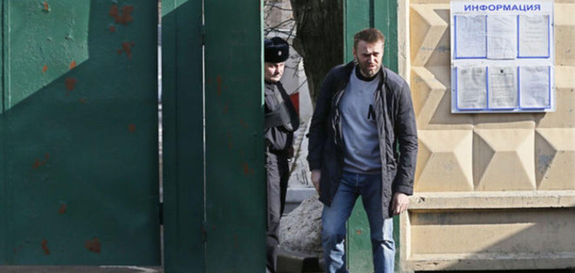 Одного из главных российских оппозиционеров выпустили на свободу в Москве