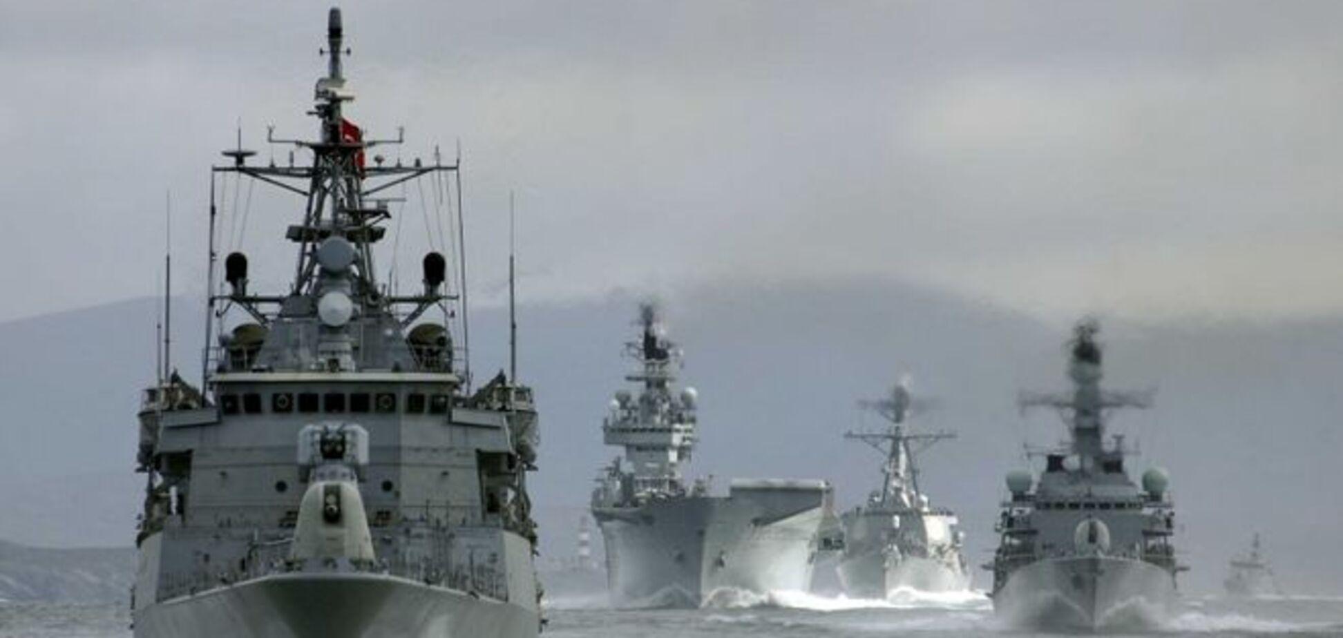Зачем корабли НАТО вошли в Черное море