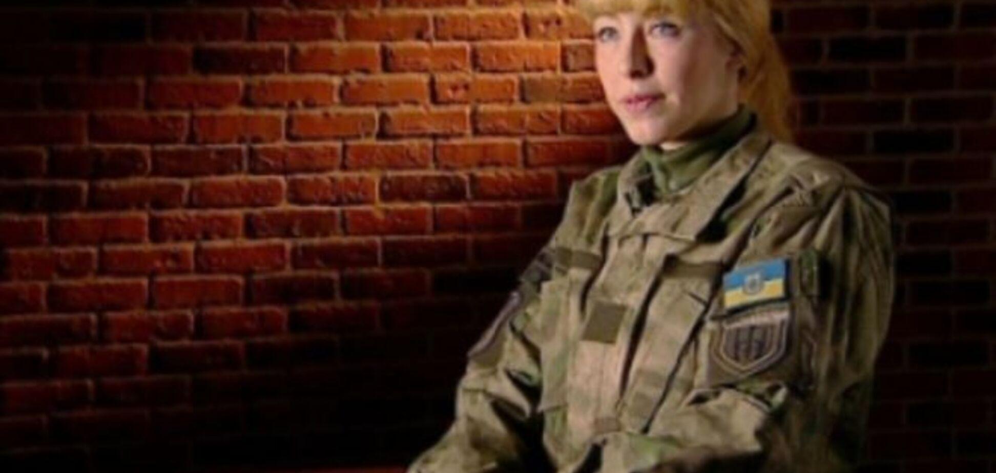 Монологи героев. Украинская разведчица рассказала о 'женской войне' на Донбассе