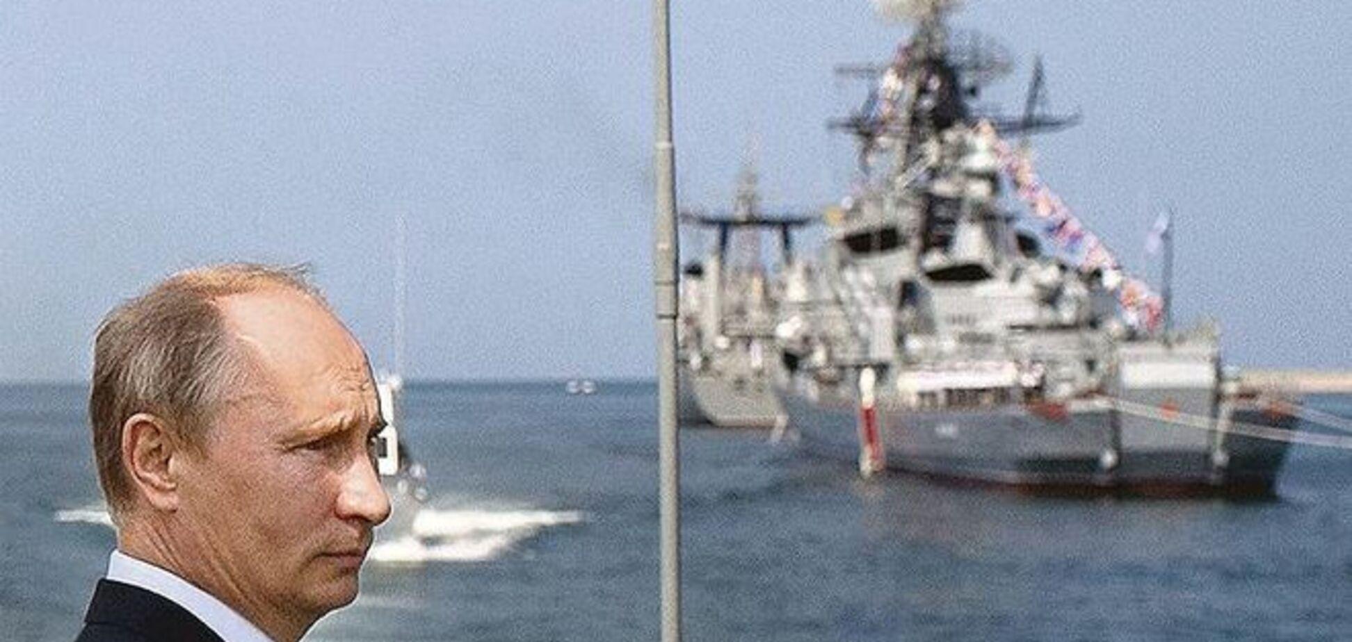 Путин создает в Крыму гигантскую военную базу - СМИ