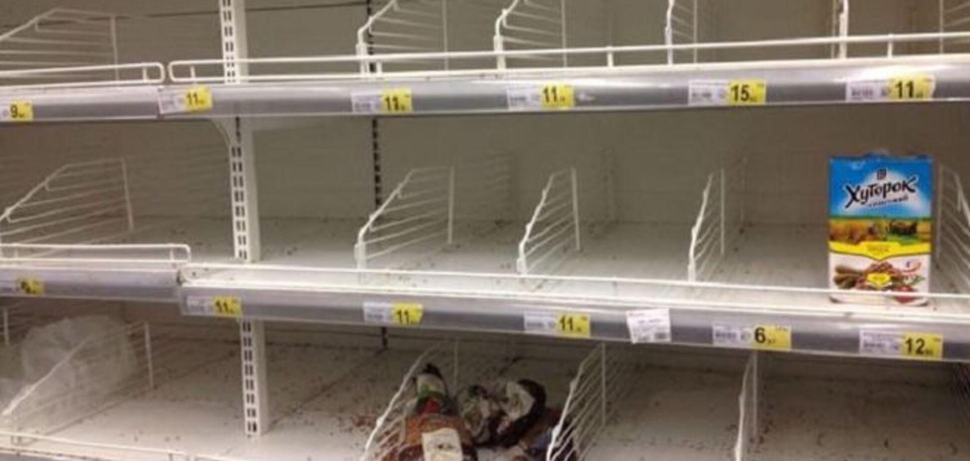Главарь 'ДНР' Захарченко грозится полностью перевести Донецк на российские продукты