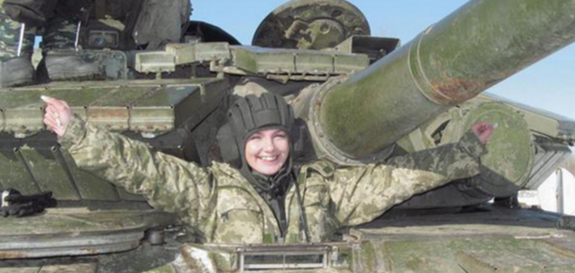 Женщина-танк. 28-летняя украинка стала единственной танкисткой в стране: фото и видео военной