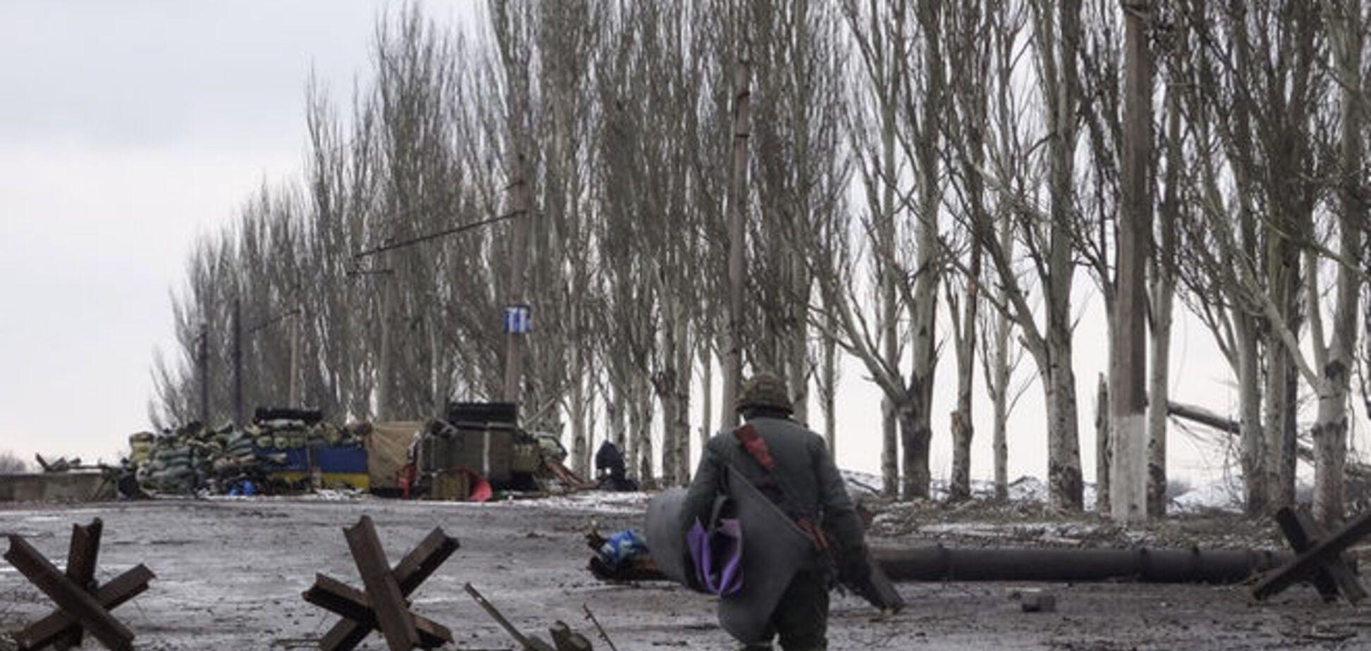 Мирный житель получил ранение во время обстрела террористами Широкино