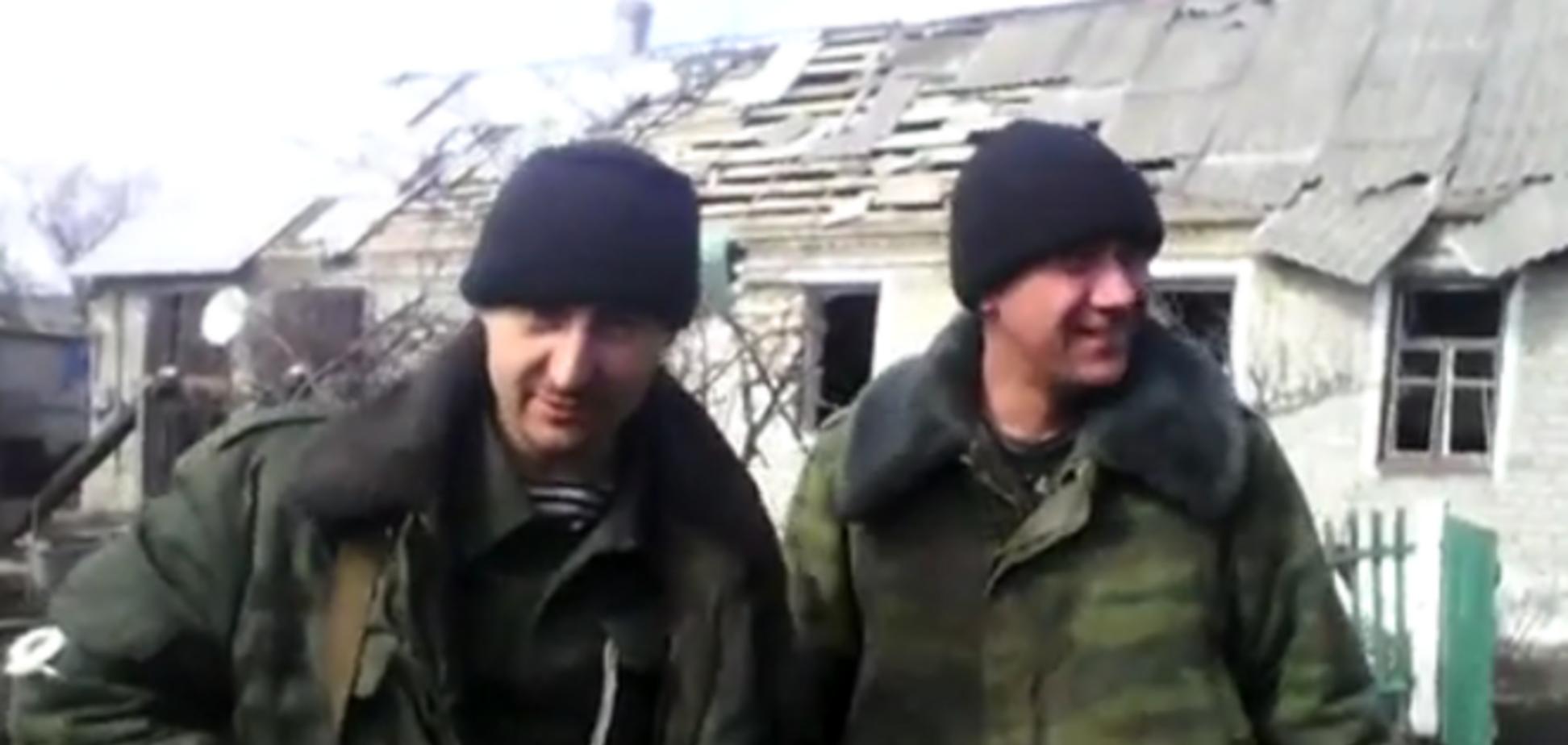 'От Дебальцево осталось одно *бальцево': боевики на видео грозят сделать из Киева разбитую деревню