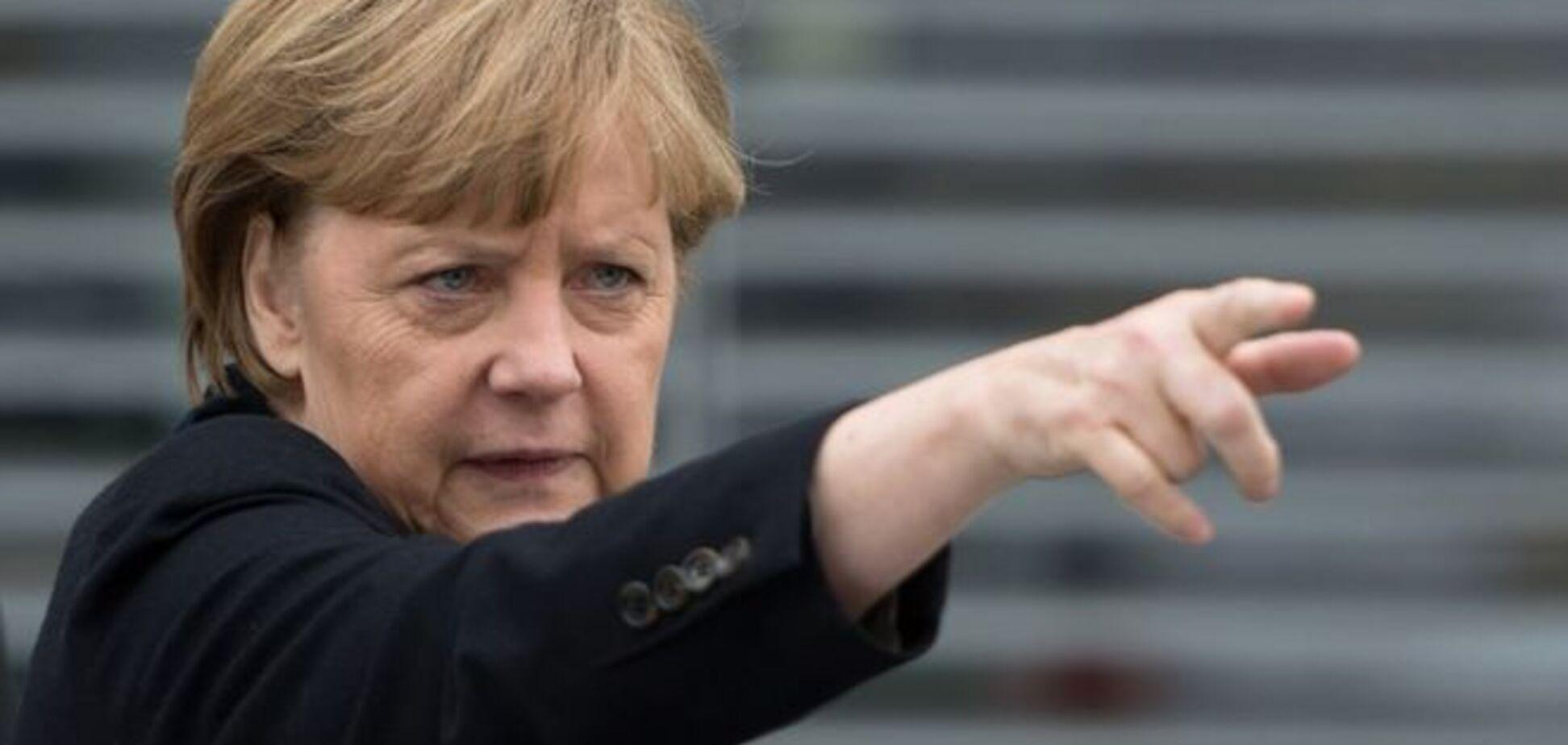 Взрыв мозга. 'Дружелюбные' боевики 'ДНР' поздравили Меркель с 8 Марта