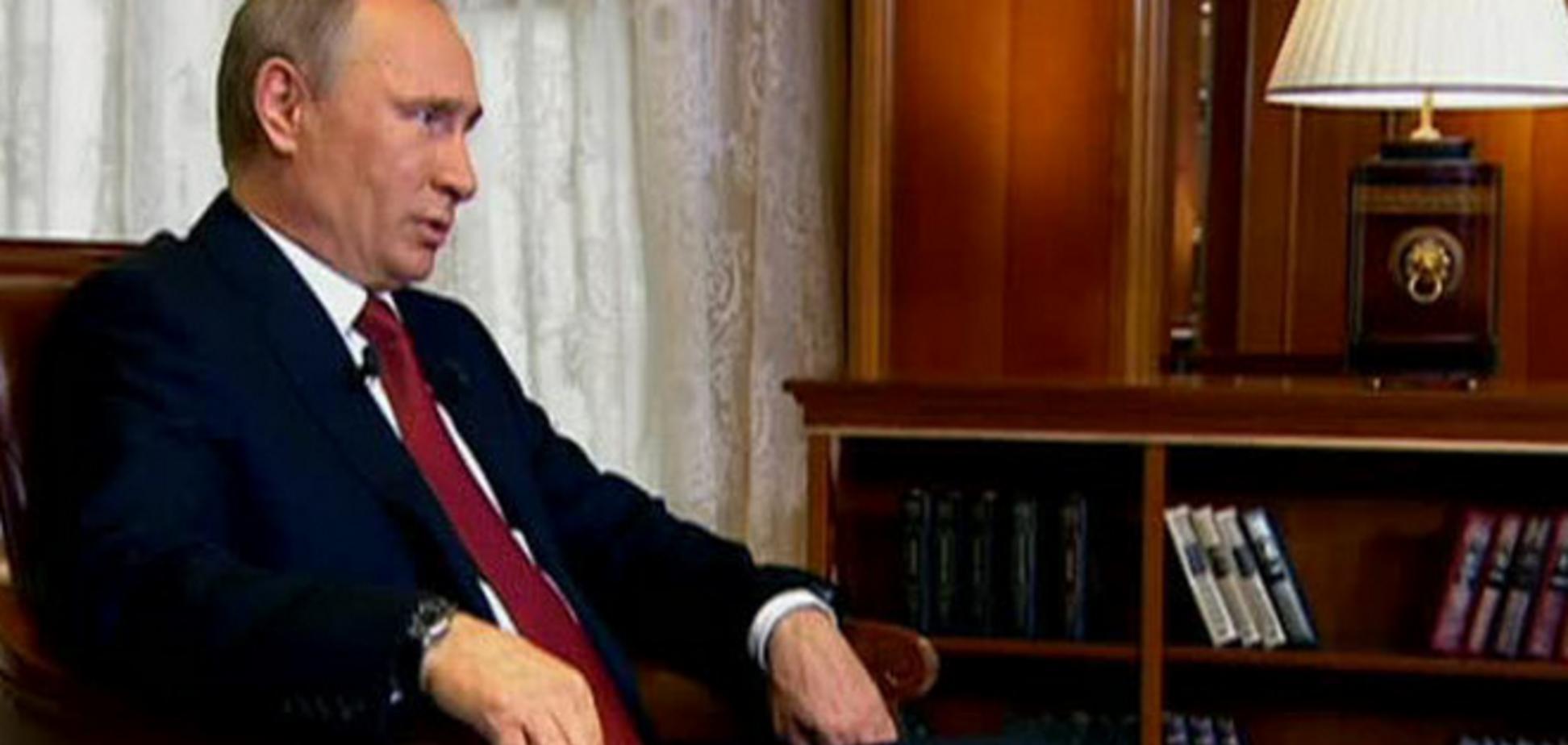 Нашел себе оправдание. Путин рассказал, кто заставил его отобрать у Украины Крым