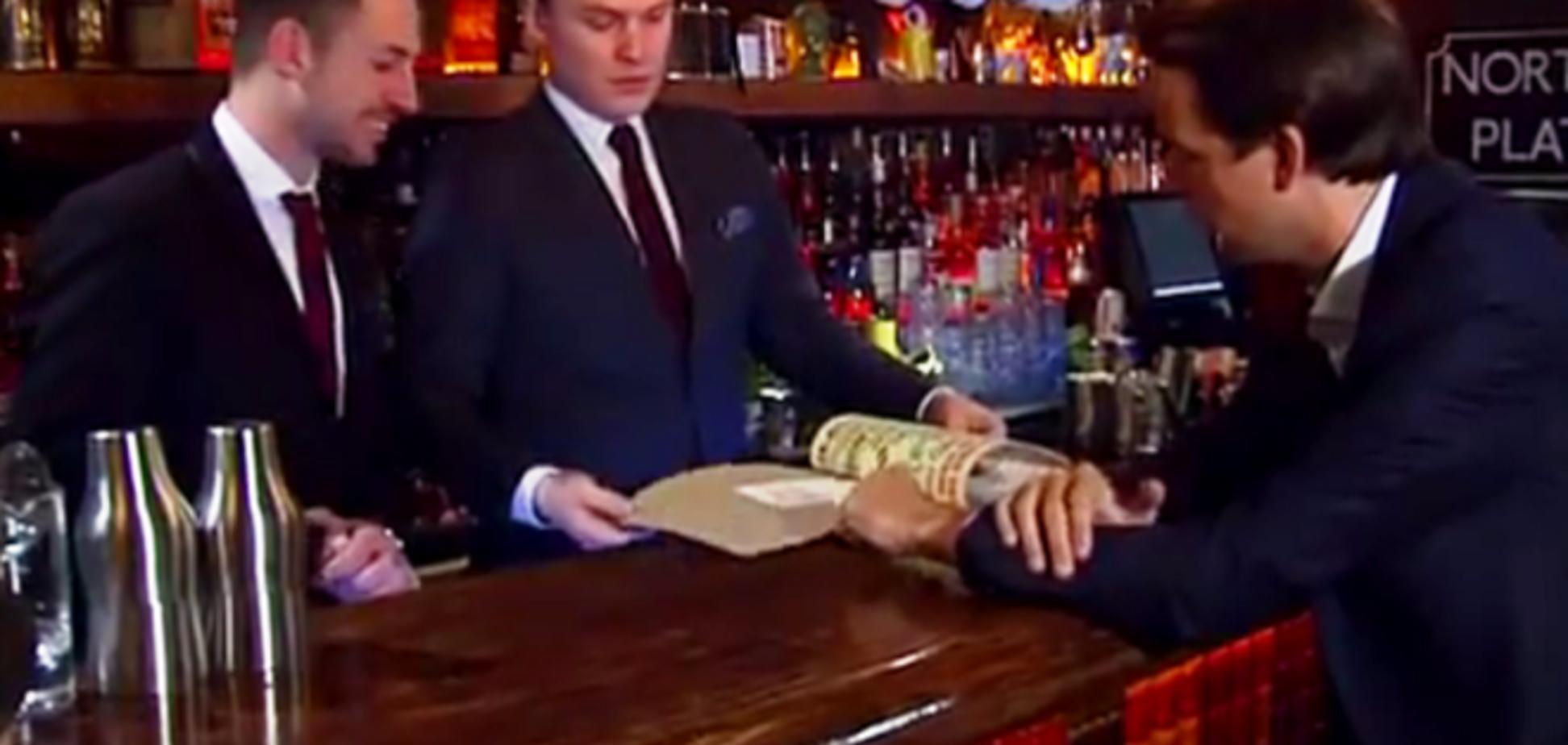 В бомбоубежище Лондона открыли бар для 'подпольщиков': видеофакт