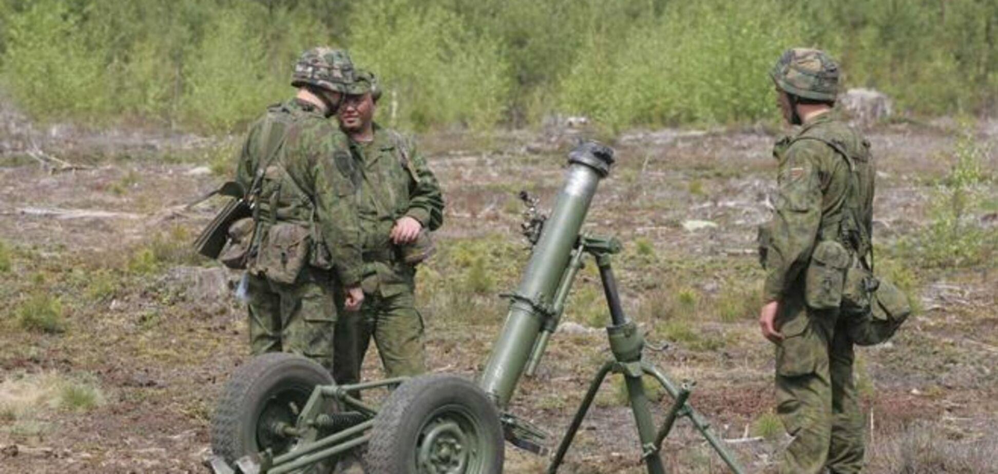 Террористы обстреляли Широкино запрещенным оружием