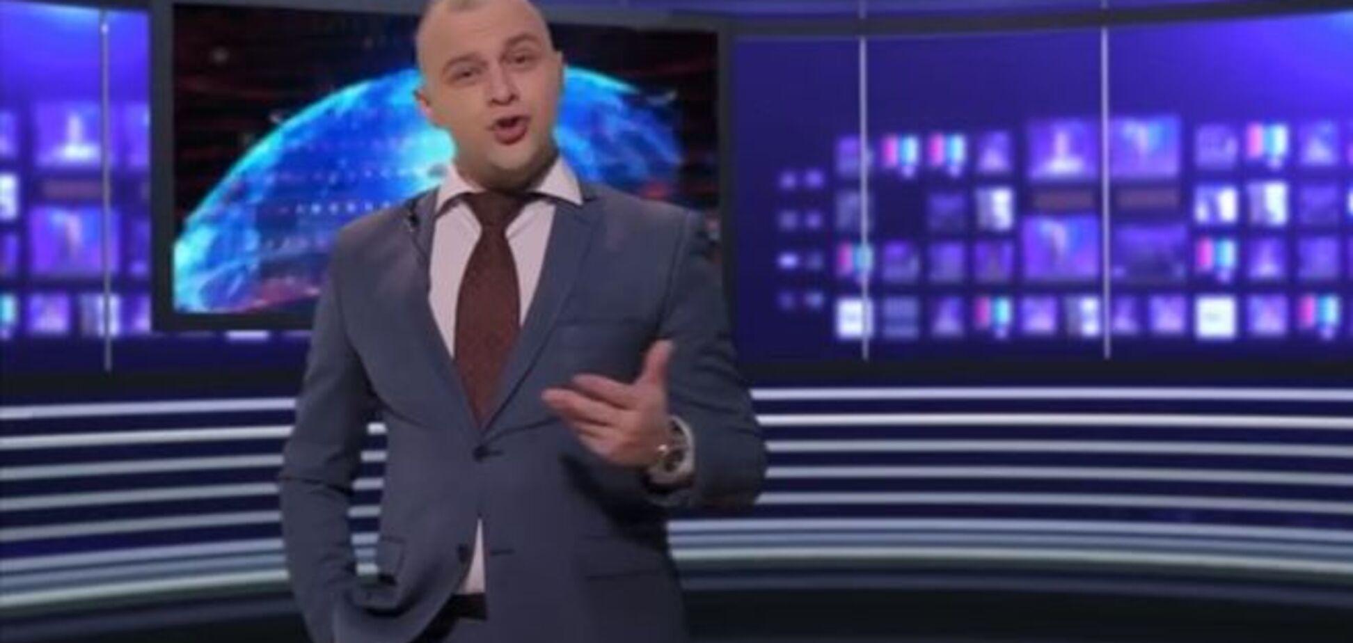Интернет взорвала закарпатская пародия на пропагандиста Киселева