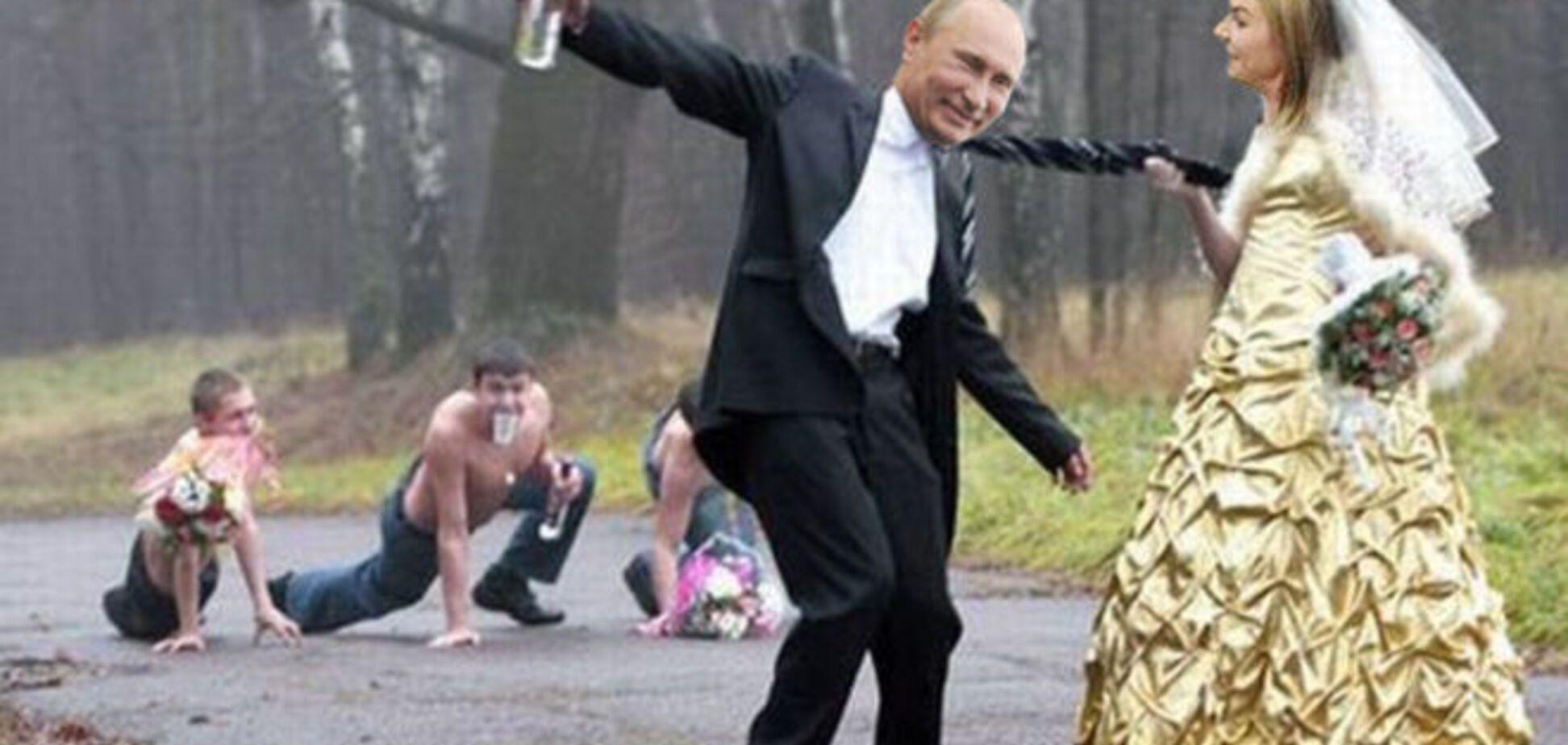 Опубликован тайный свадебный фотоальбом Путина и Кабаевой: вот так гульнули