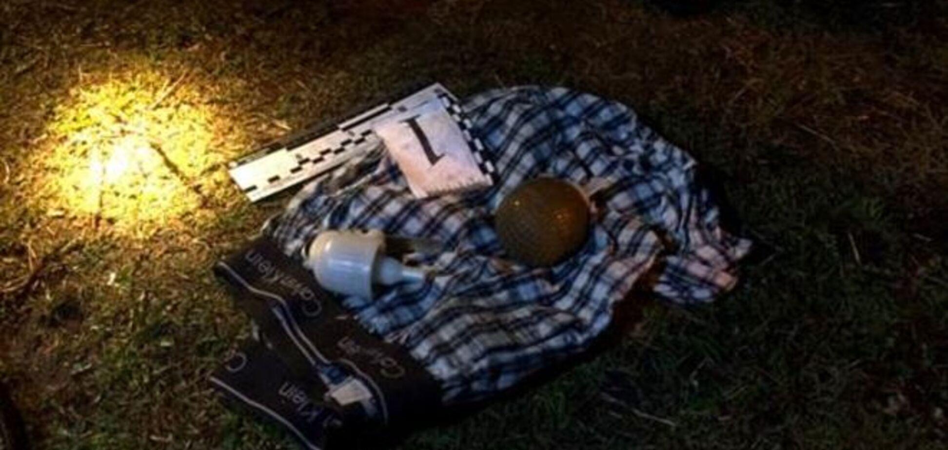 У Києві затримали чоловіка з гранатою