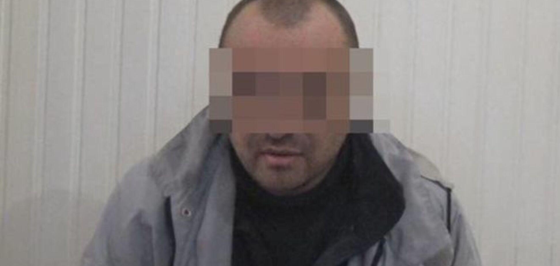 В Одесі затримали прибулого з Росії координатора мережі бойовиків