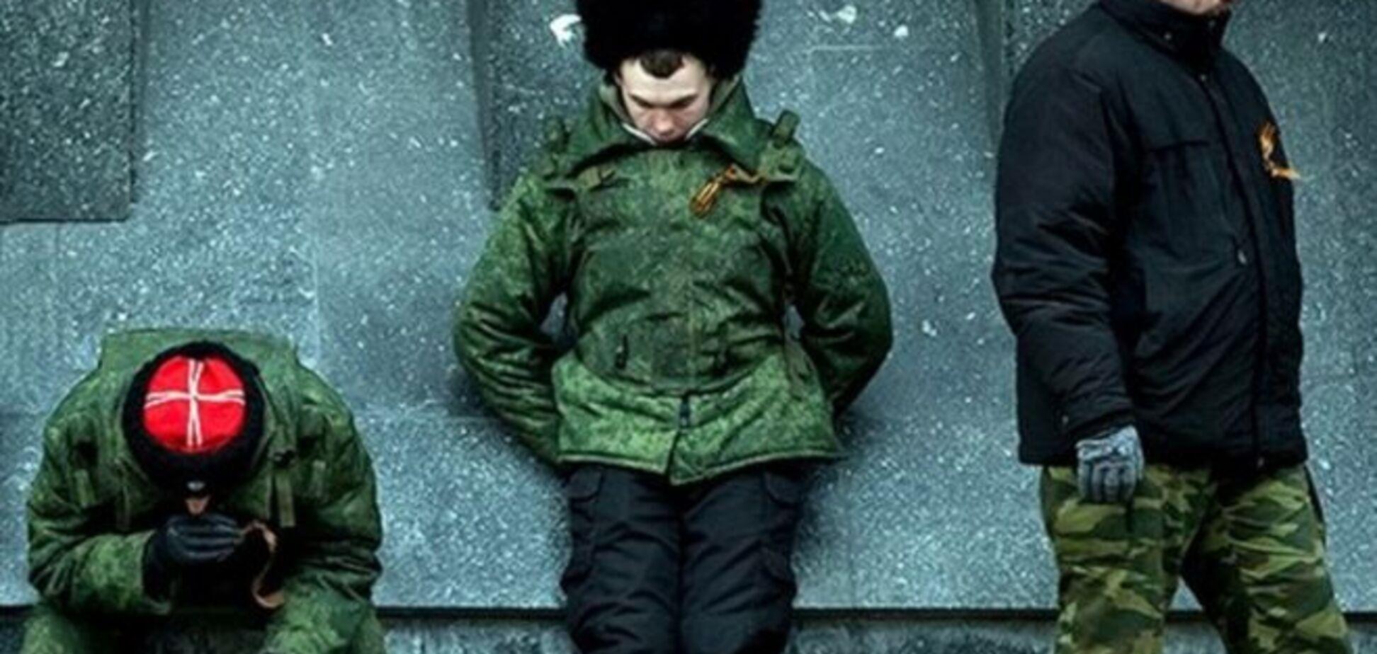 Терористи 'ЛНР' напали на 'козаків' під Красним Лучем і обікрали їх